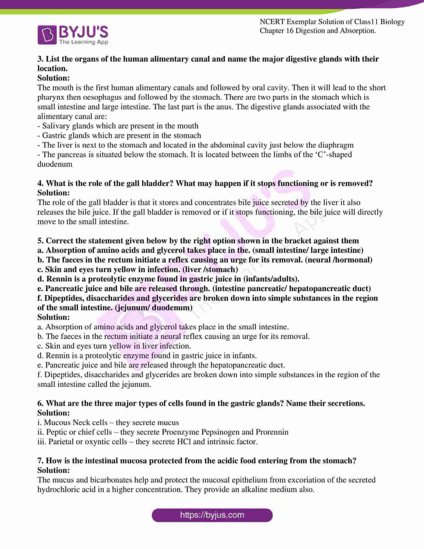 ncert exemplar solutions class 11 biology chapter 16 5