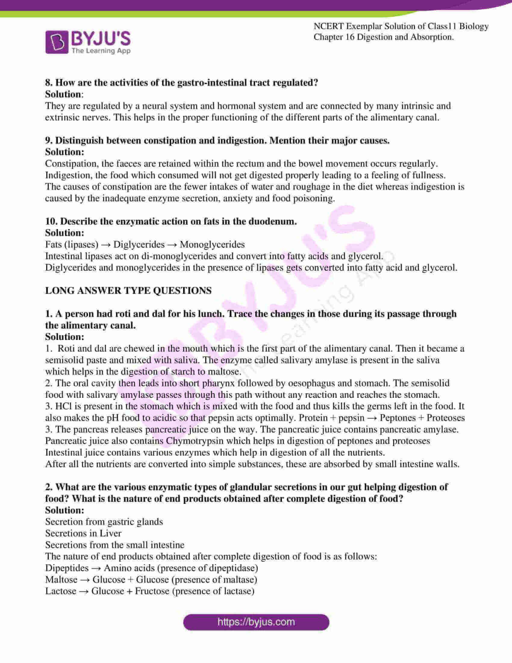 ncert exemplar solutions class 11 biology chapter 16 6