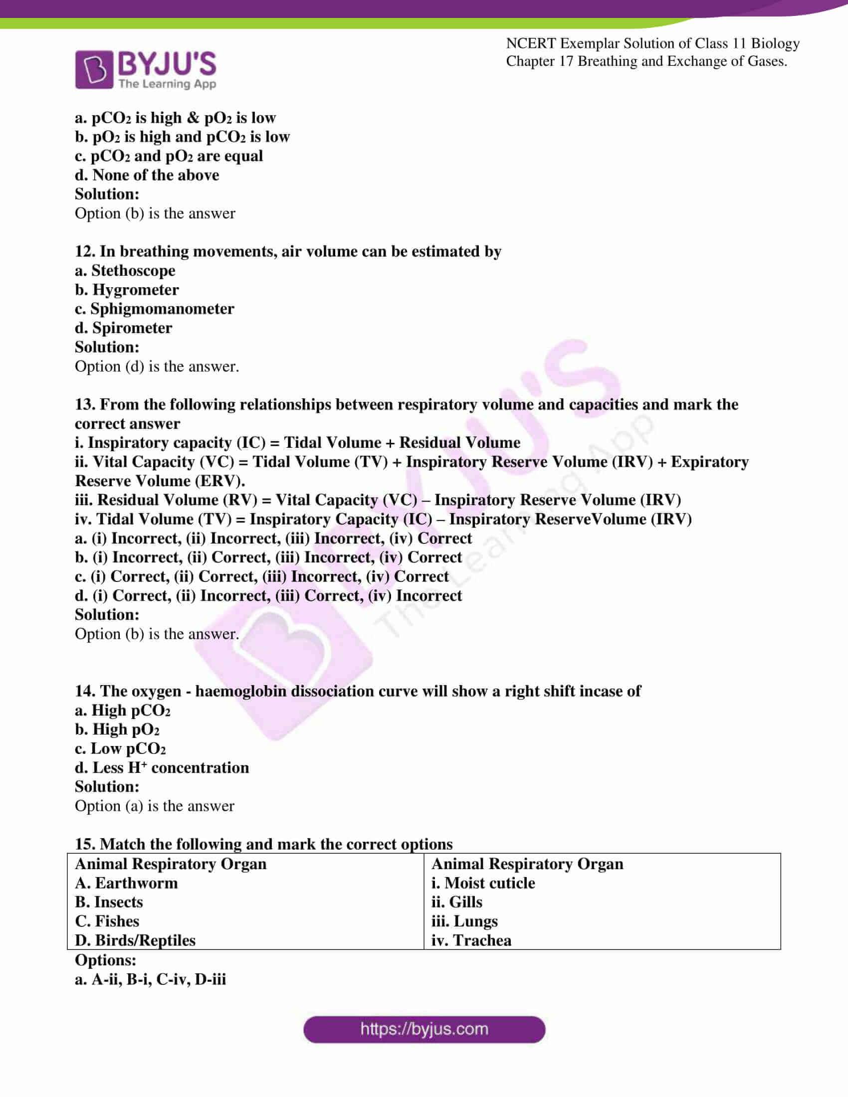 ncert exemplar solutions class 11 biology chapter 17 3