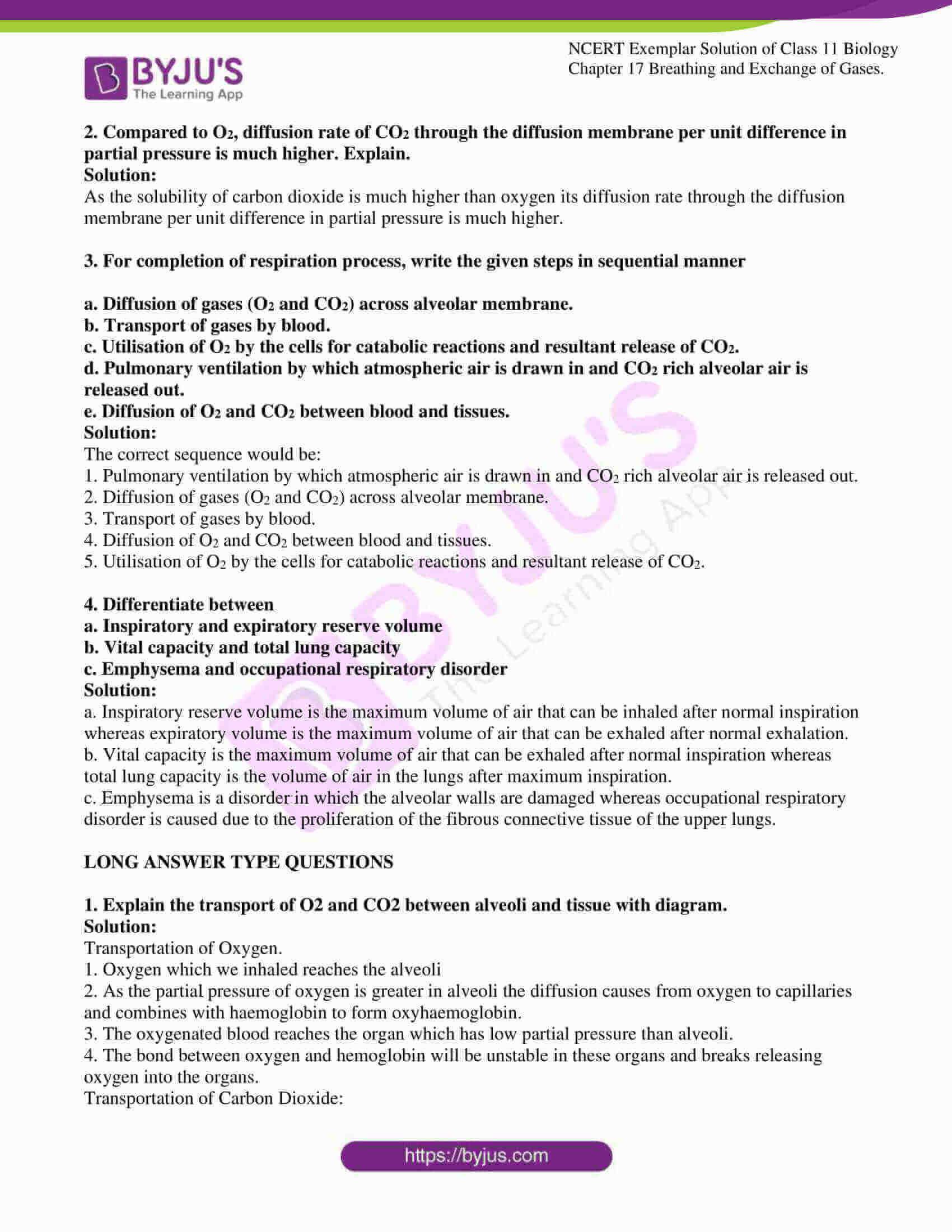 ncert exemplar solutions class 11 biology chapter 17 6