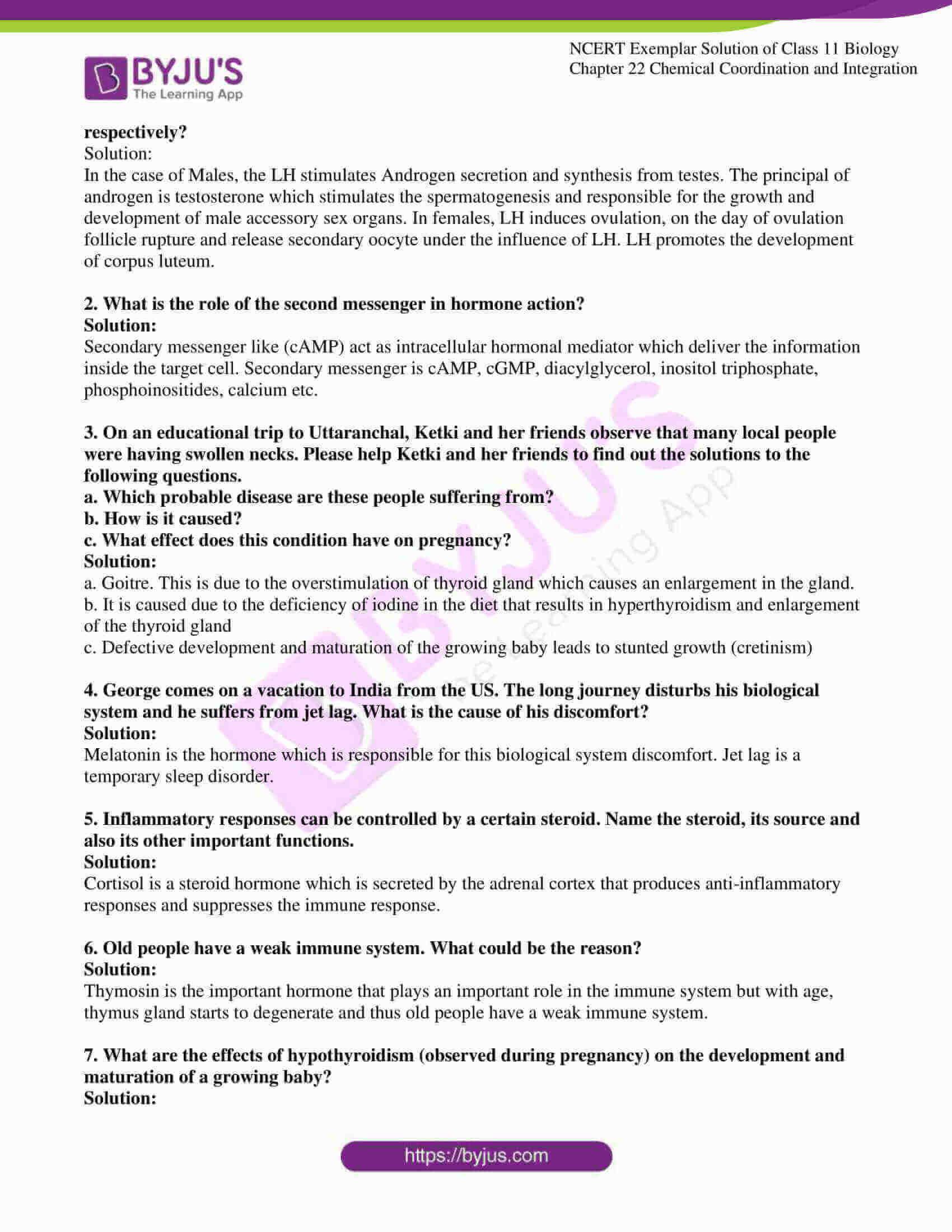 ncert exemplar solutions class 11 biology chapter 22 6