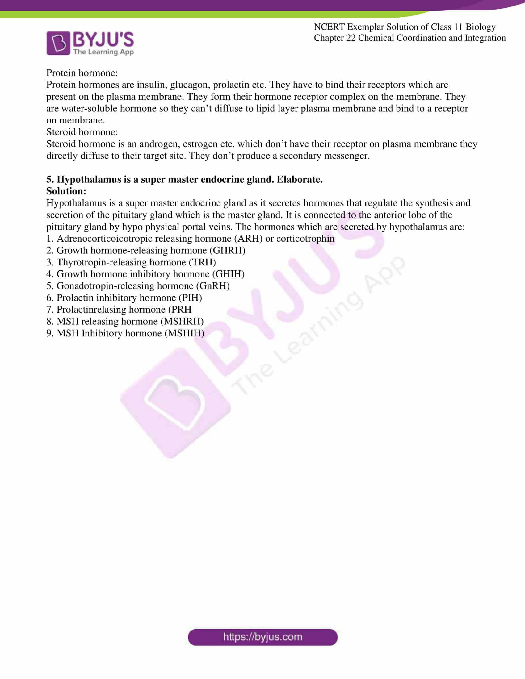 ncert exemplar solutions class 11 biology chapter 22 8