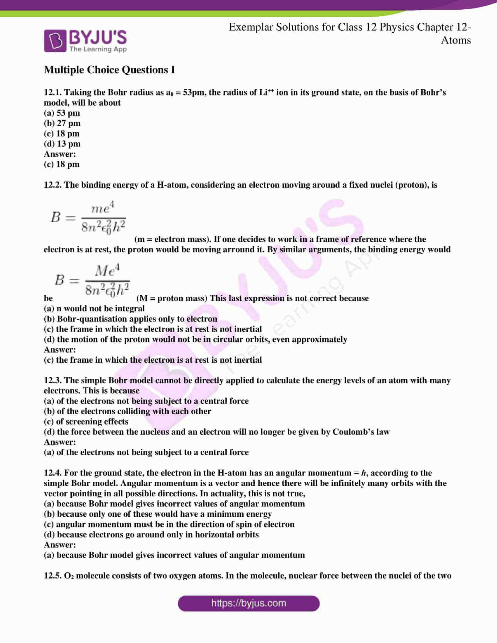 ncert exemplar solutions for class 12 physics chapter 12 1