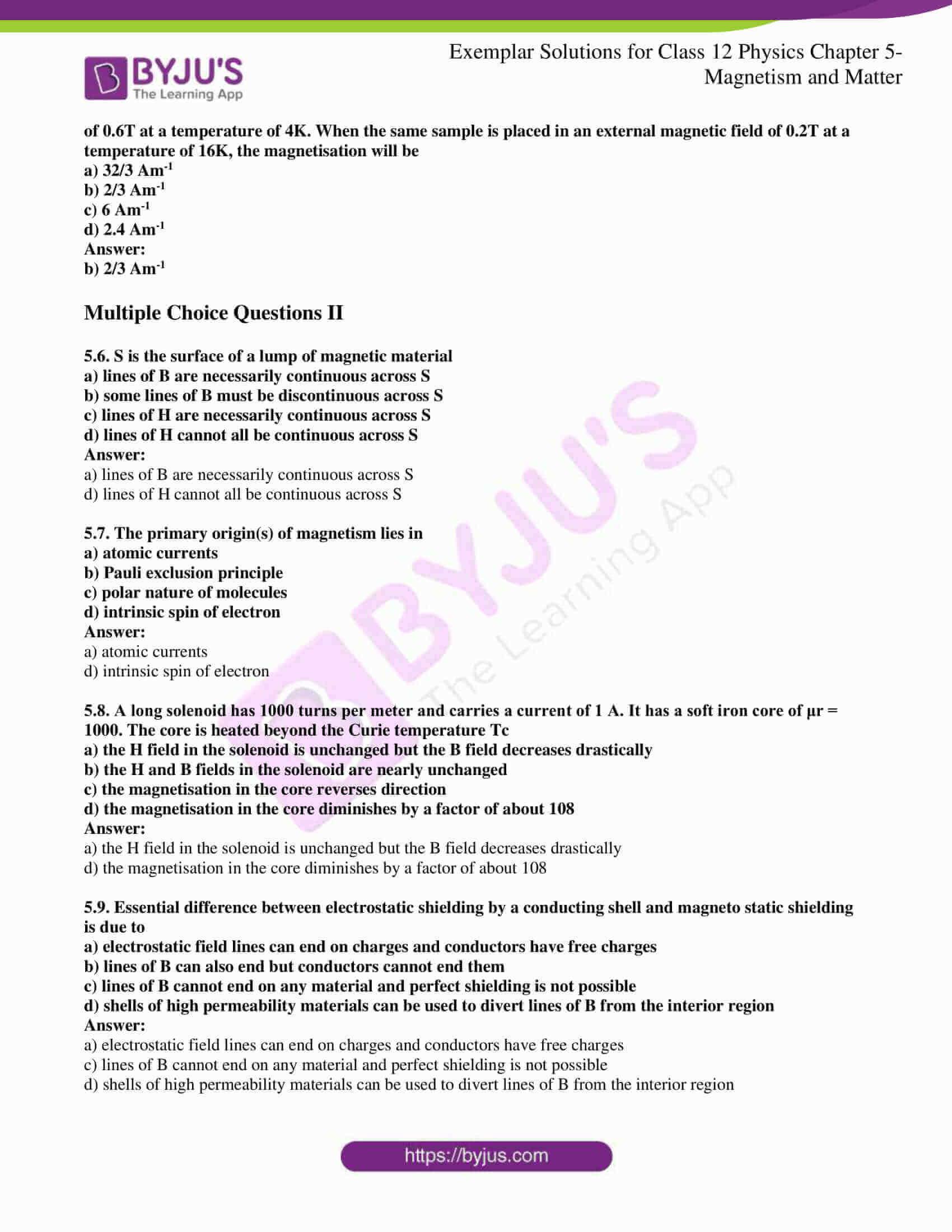 ncert exemplar solutions for class 12 physics chapter 5 02