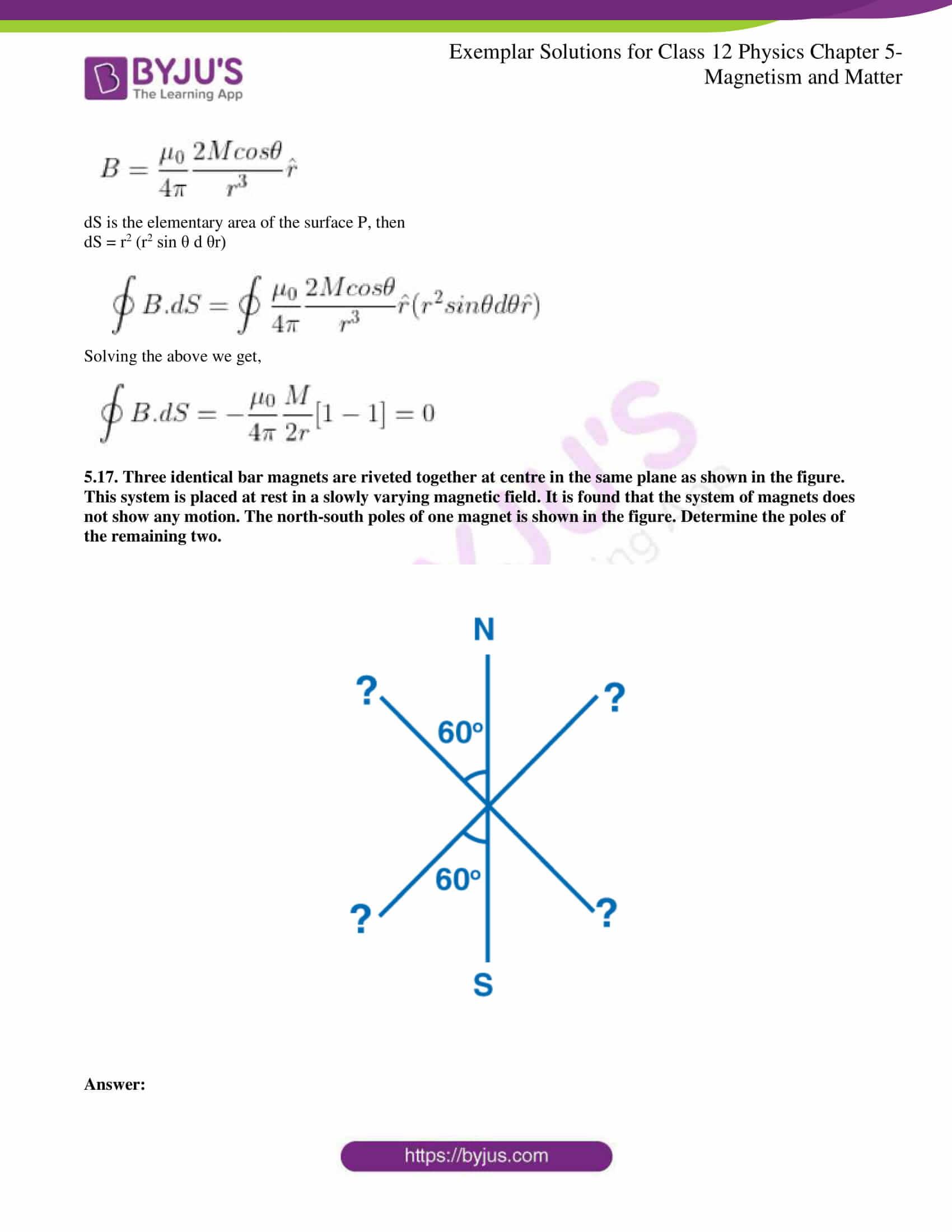 ncert exemplar solutions for class 12 physics chapter 5 05