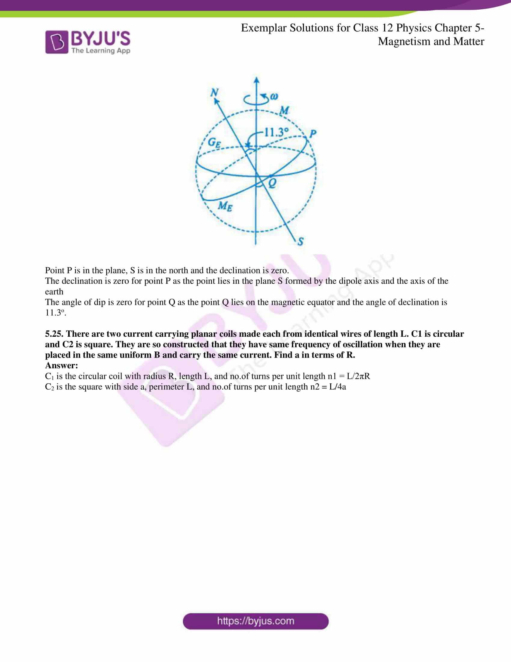 ncert exemplar solutions for class 12 physics chapter 5 10
