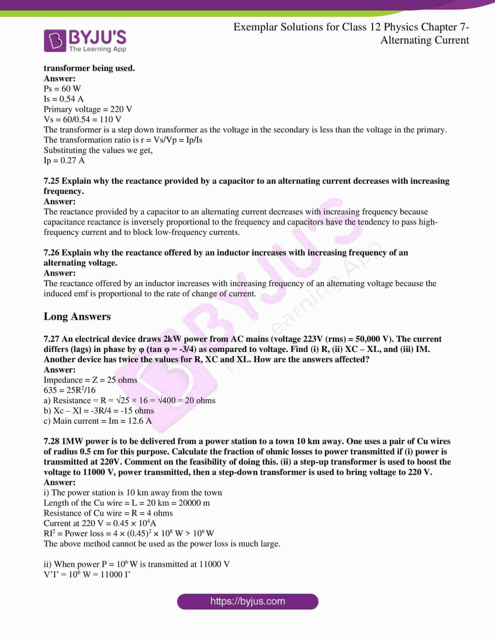 ncert exemplar solutions for class 12 physics chapter 7 8