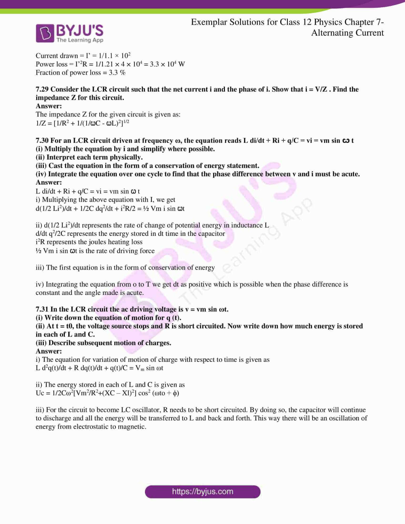 ncert exemplar solutions for class 12 physics chapter 7 9