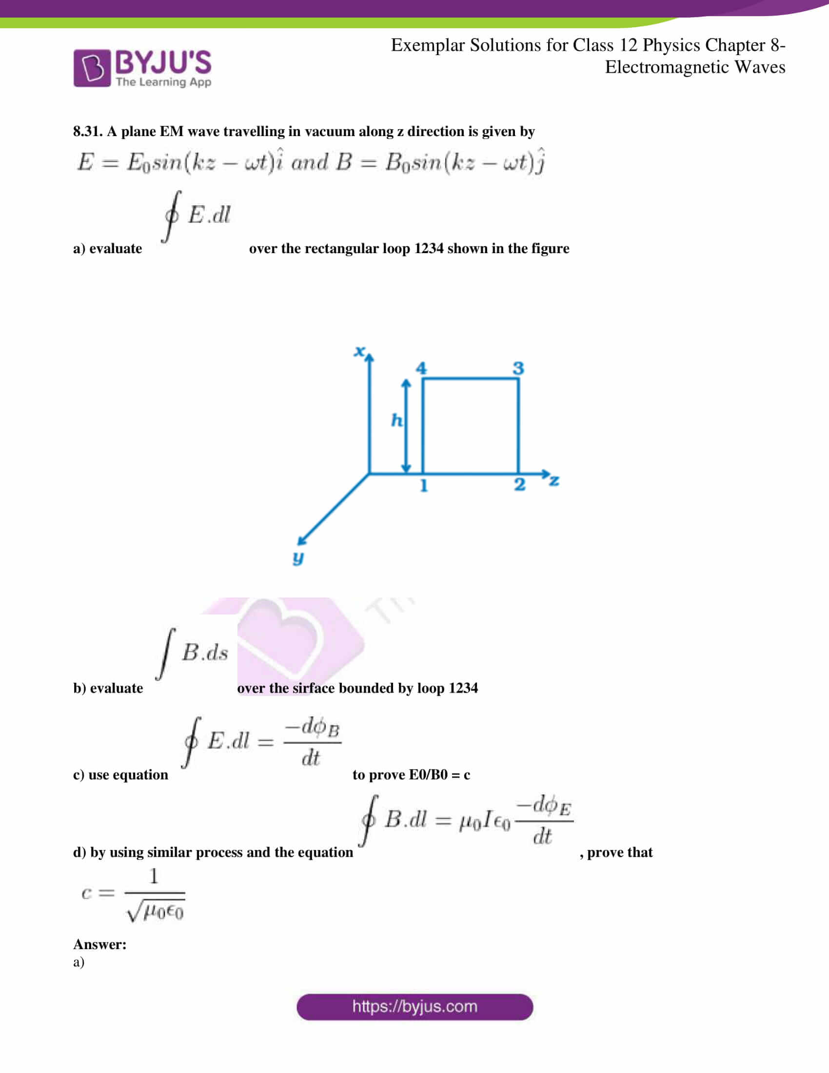 ncert exemplar solutions for class 12 physics chapter 8 10