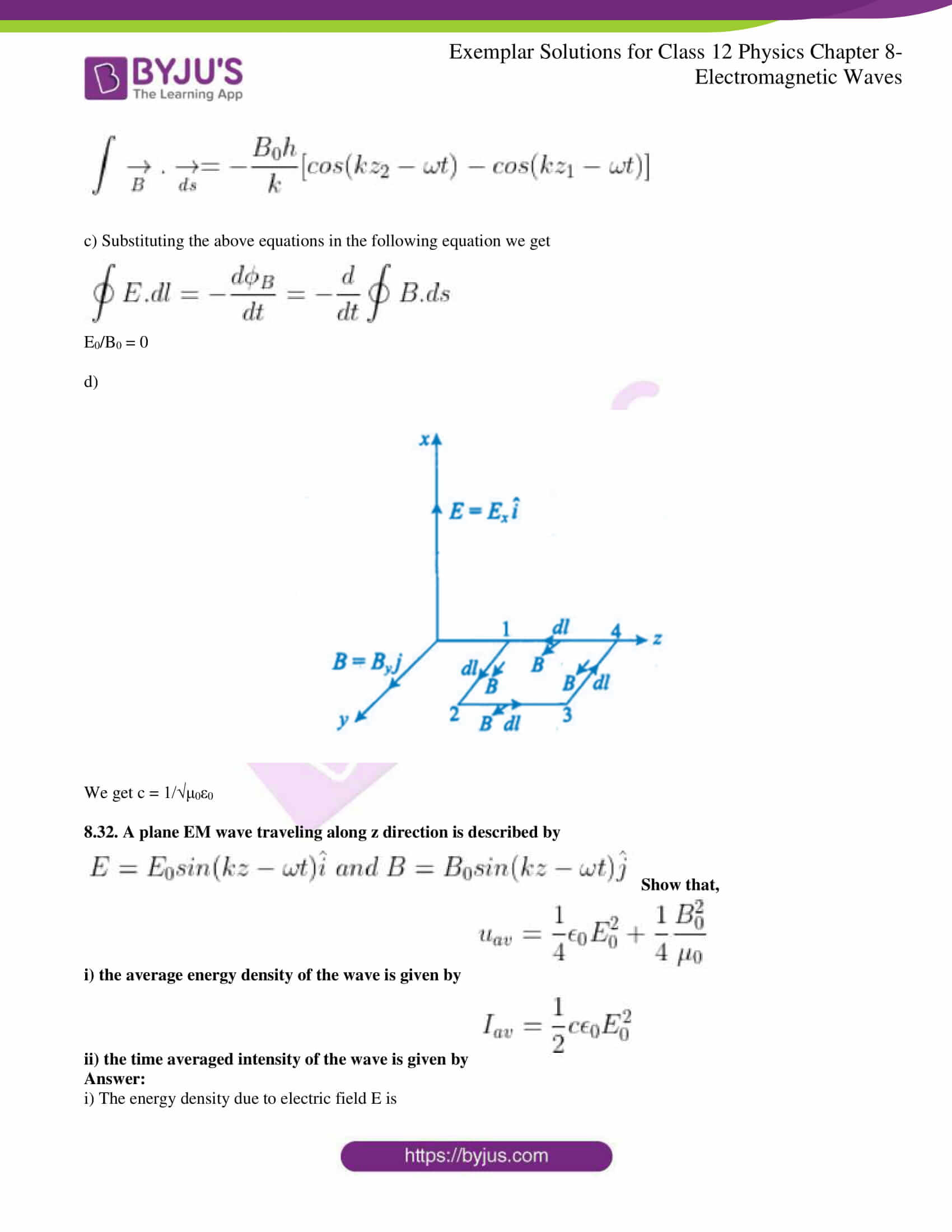 ncert exemplar solutions for class 12 physics chapter 8 12