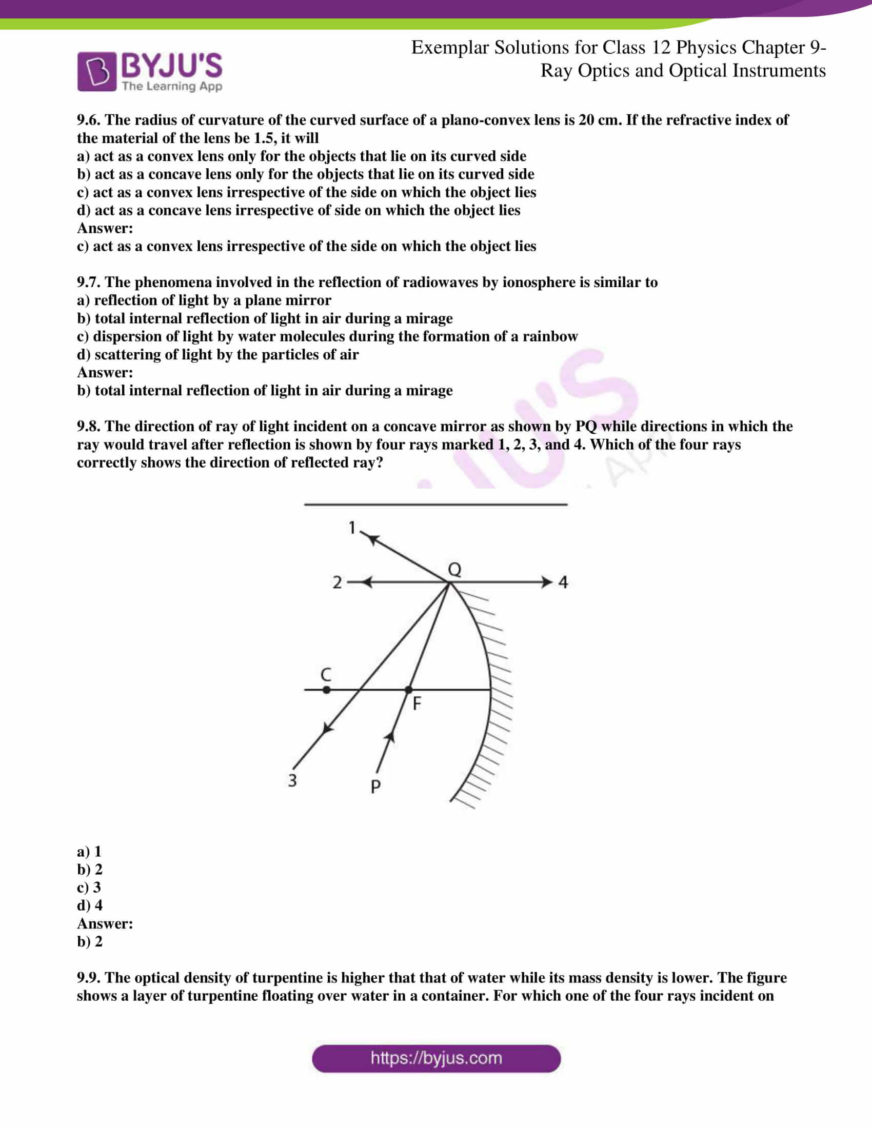ncert exemplar solutions for class 12 physics chapter 9 2