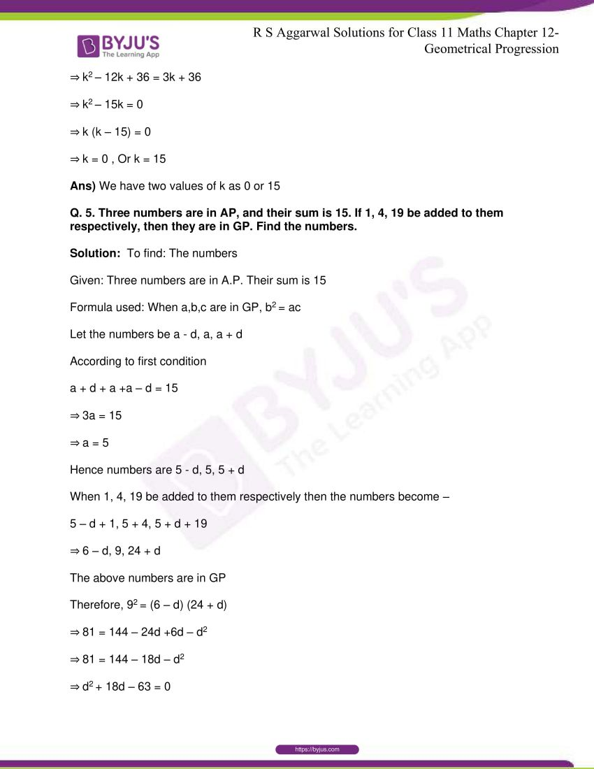 r s aggarwal solutions class 11 maths chapter 12 geometrical progression 054