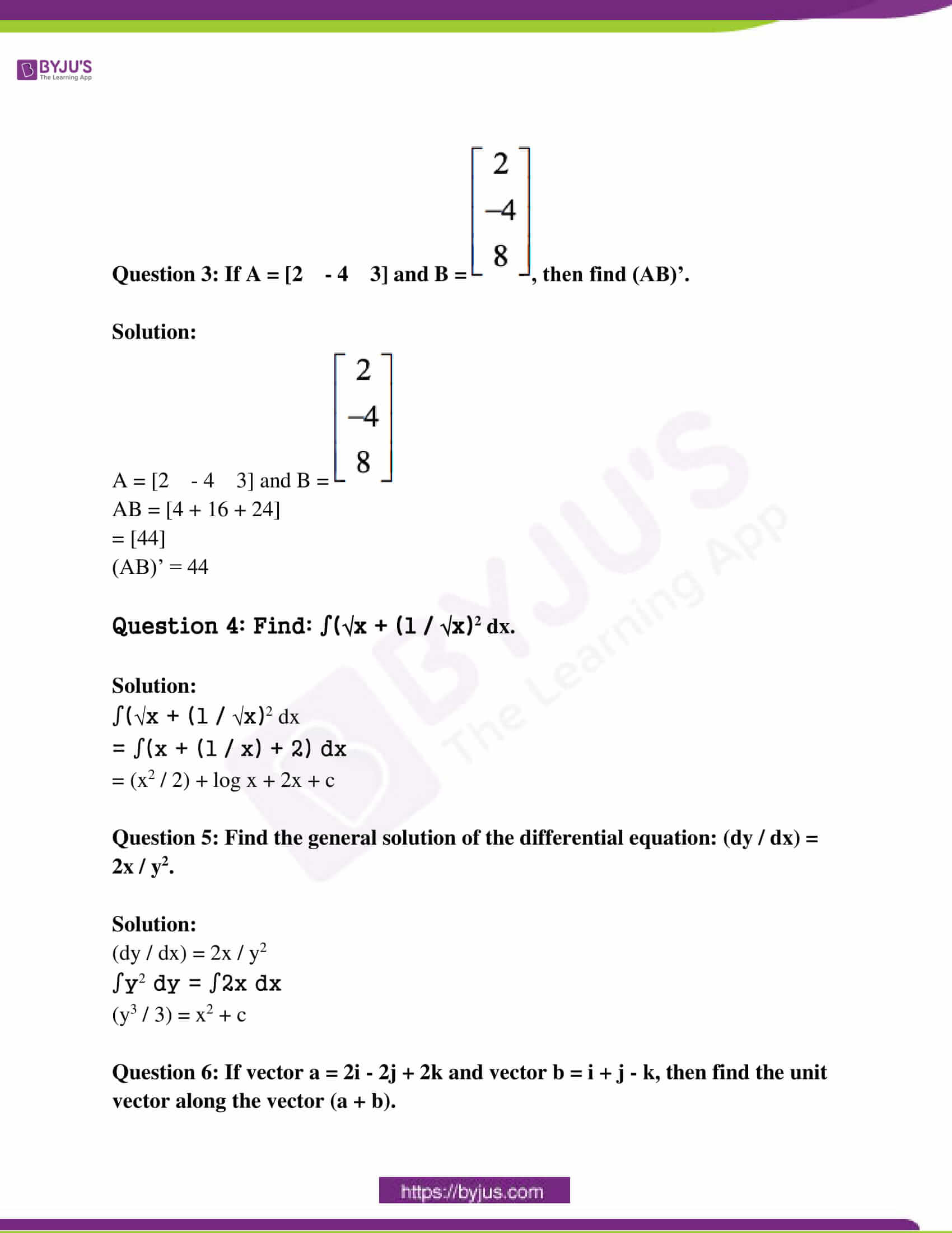 rajasthan class 12 exam question paper solutions march 2017 02