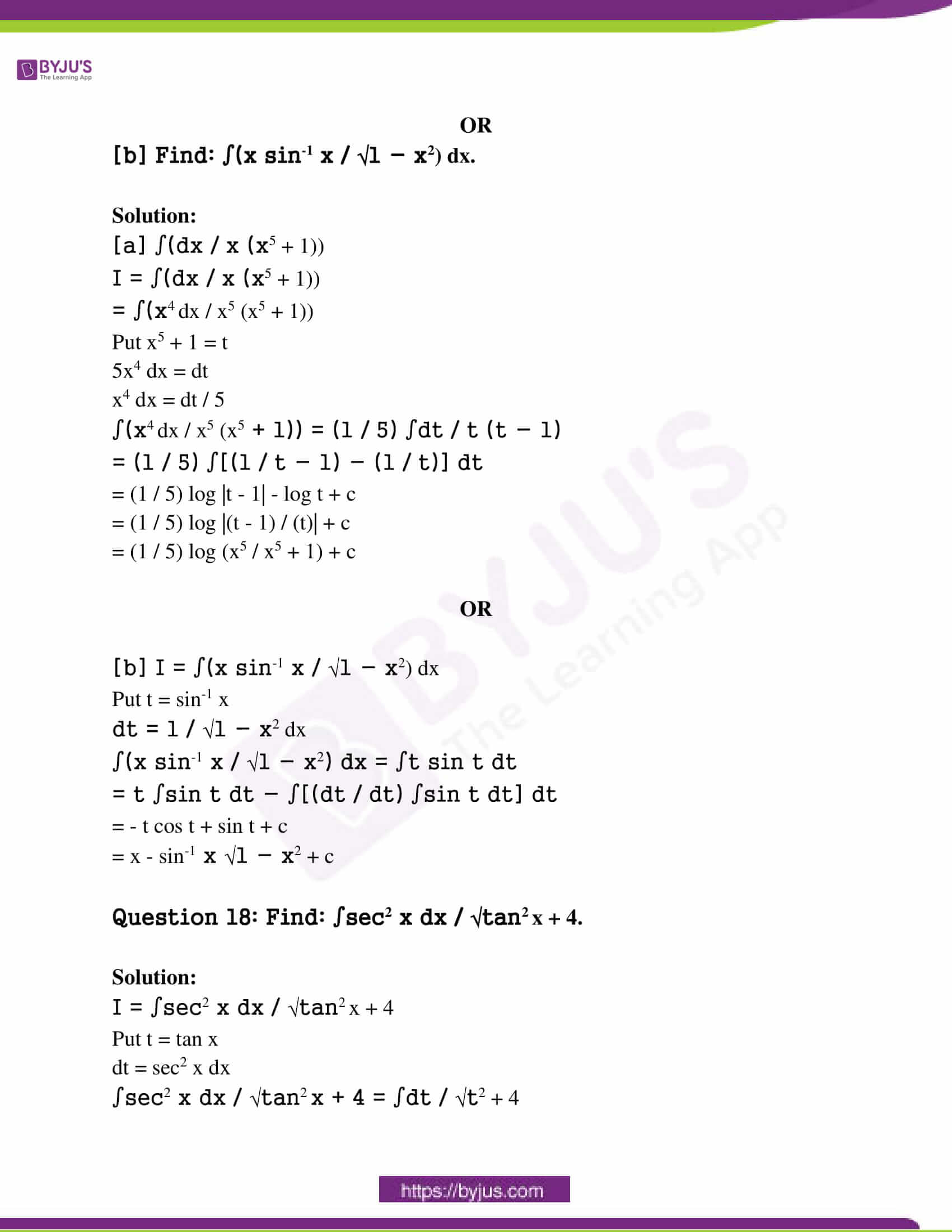 rajasthan class 12 exam question paper solutions march 2017 09