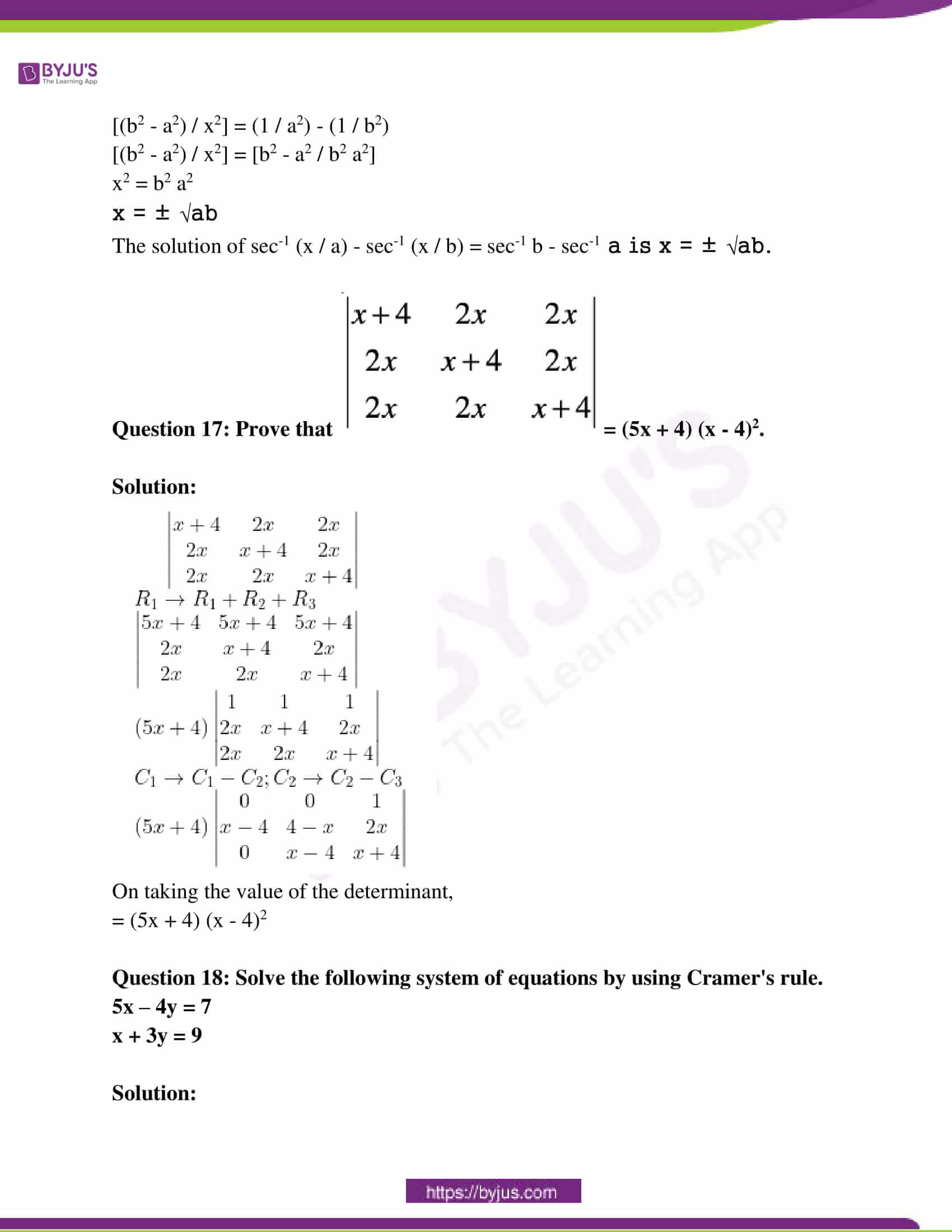 rajasthan class 12 exam question paper solutions march 2018 10