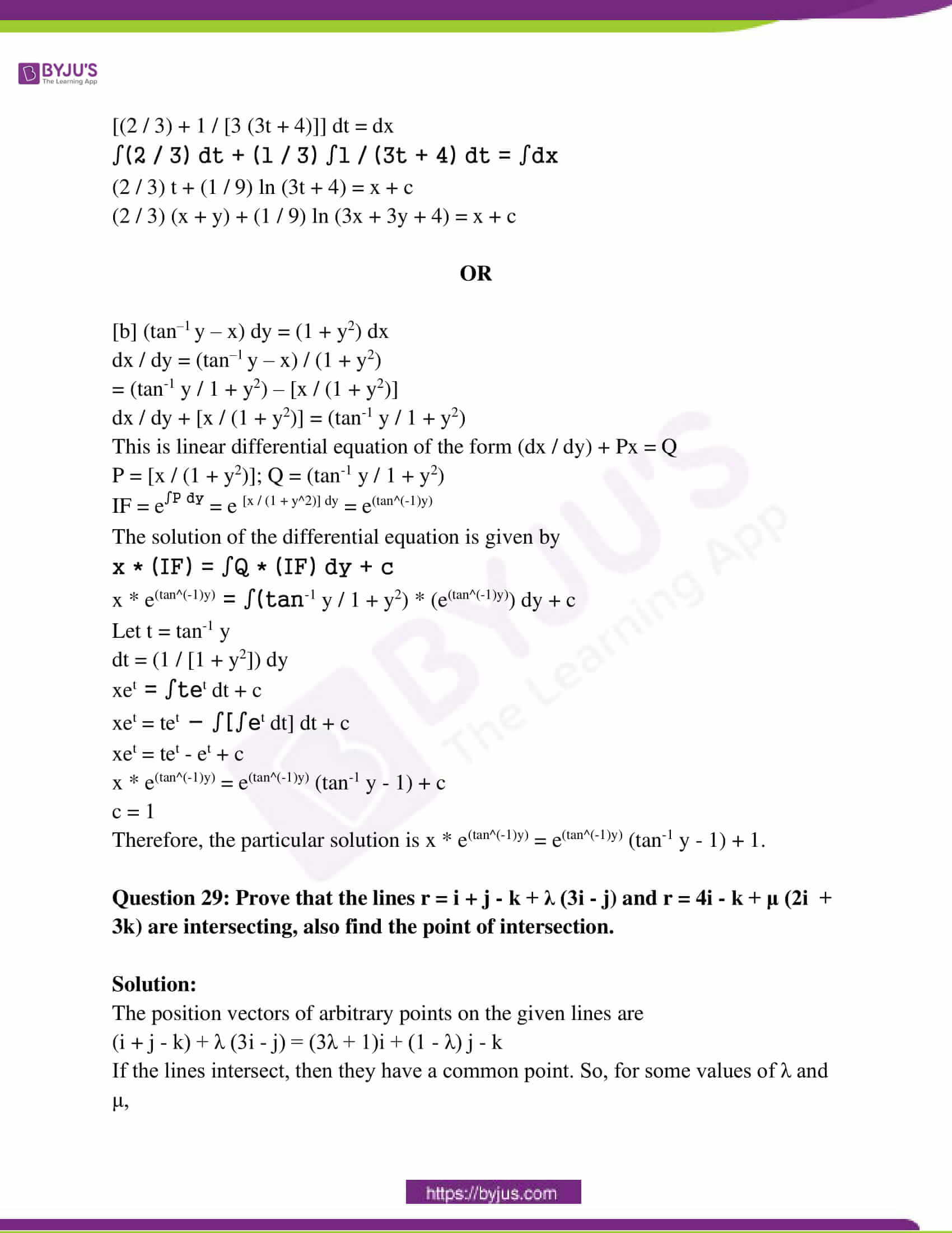 rajasthan class 12 exam question paper solutions march 2018 18