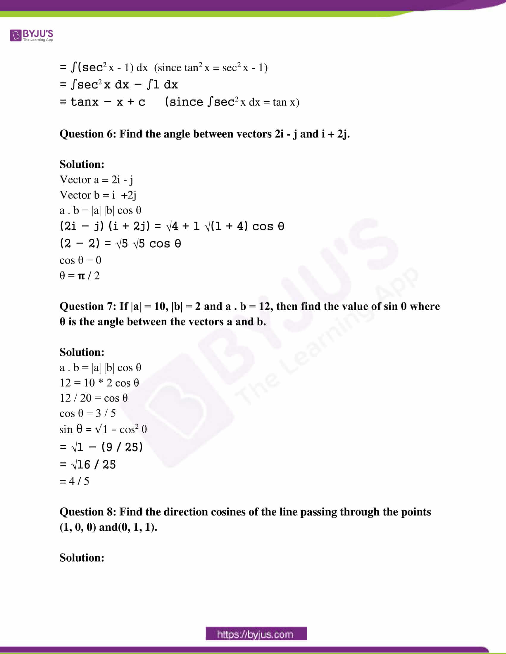 rajasthan class 12 exam question paper solutions march 2019 03