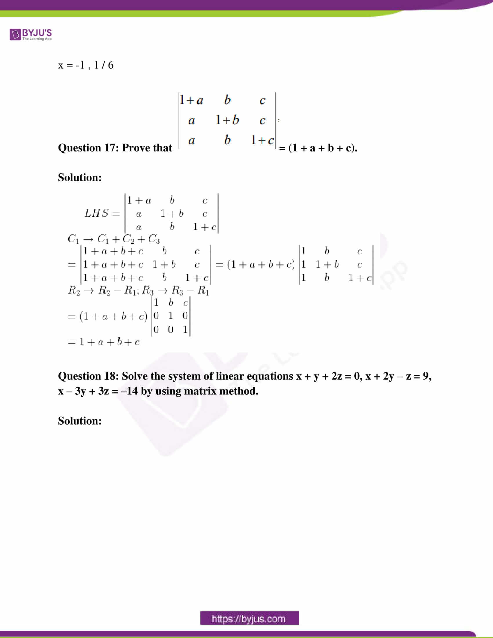 rajasthan class 12 exam question paper solutions march 2019 09