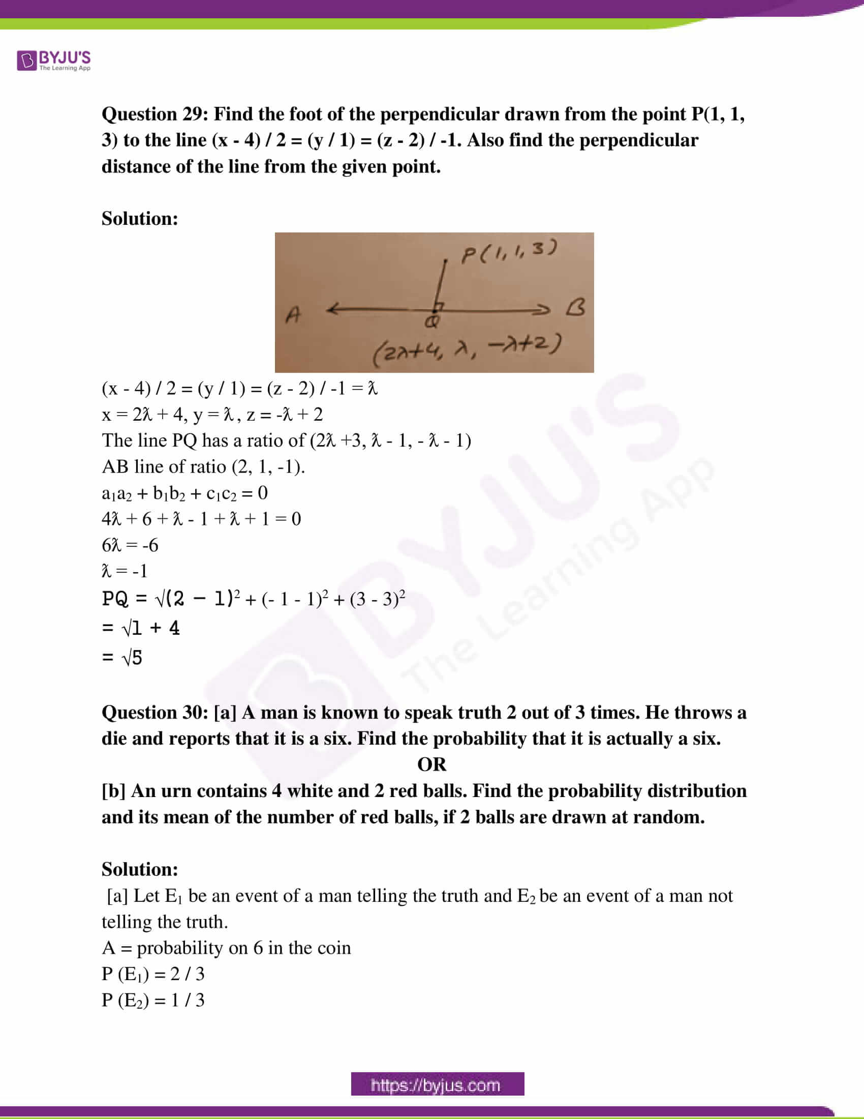 rajasthan class 12 exam question paper solutions march 2019 21