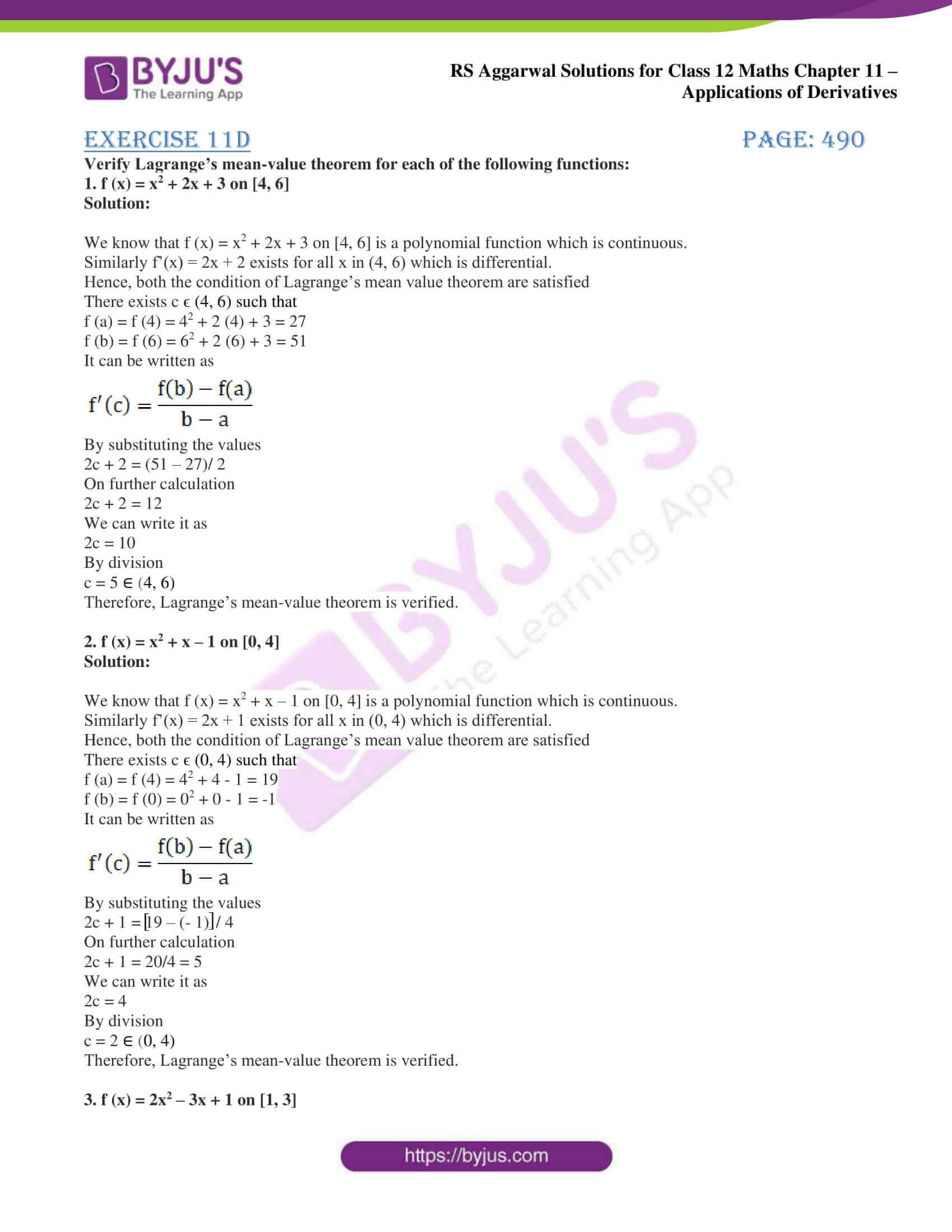 rs aggarwal solution class 12 maths chapter 11 ex d 1