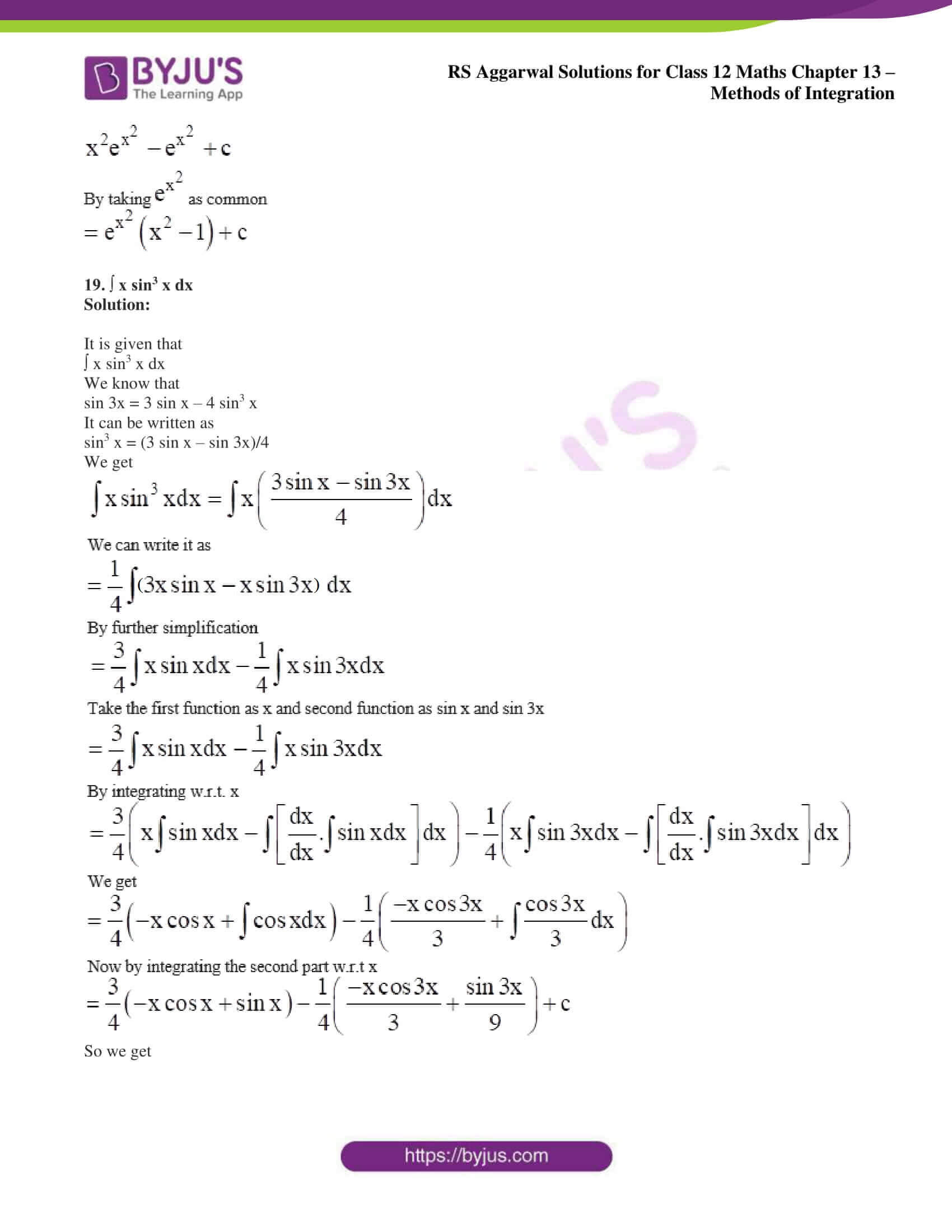 rs aggarwal solution class 12 maths chapter 13 ex c 12