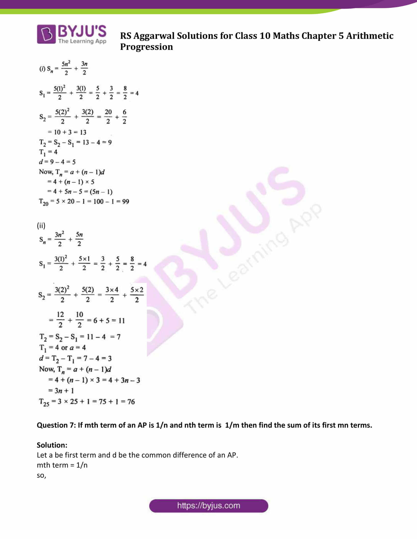 rsaggarwal solution class 10 maths chapter 5 exercise 5c 07