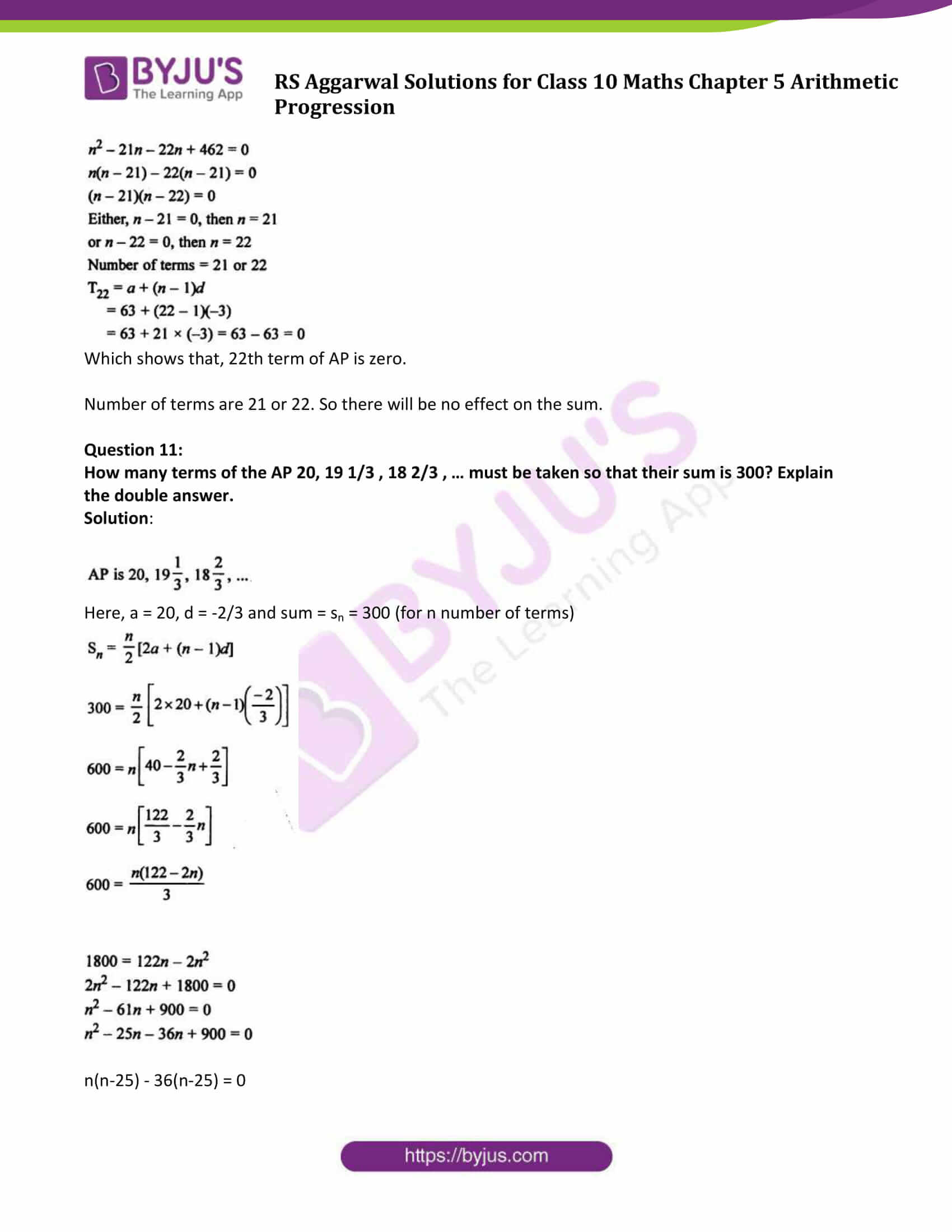 rsaggarwal solution class 10 maths chapter 5 exercise 5c 10