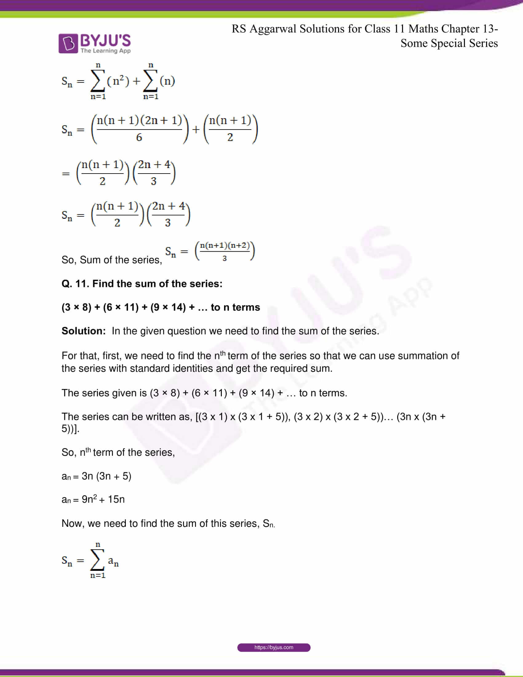 rsaggarwal solutions class 11 maths chapter 13 19