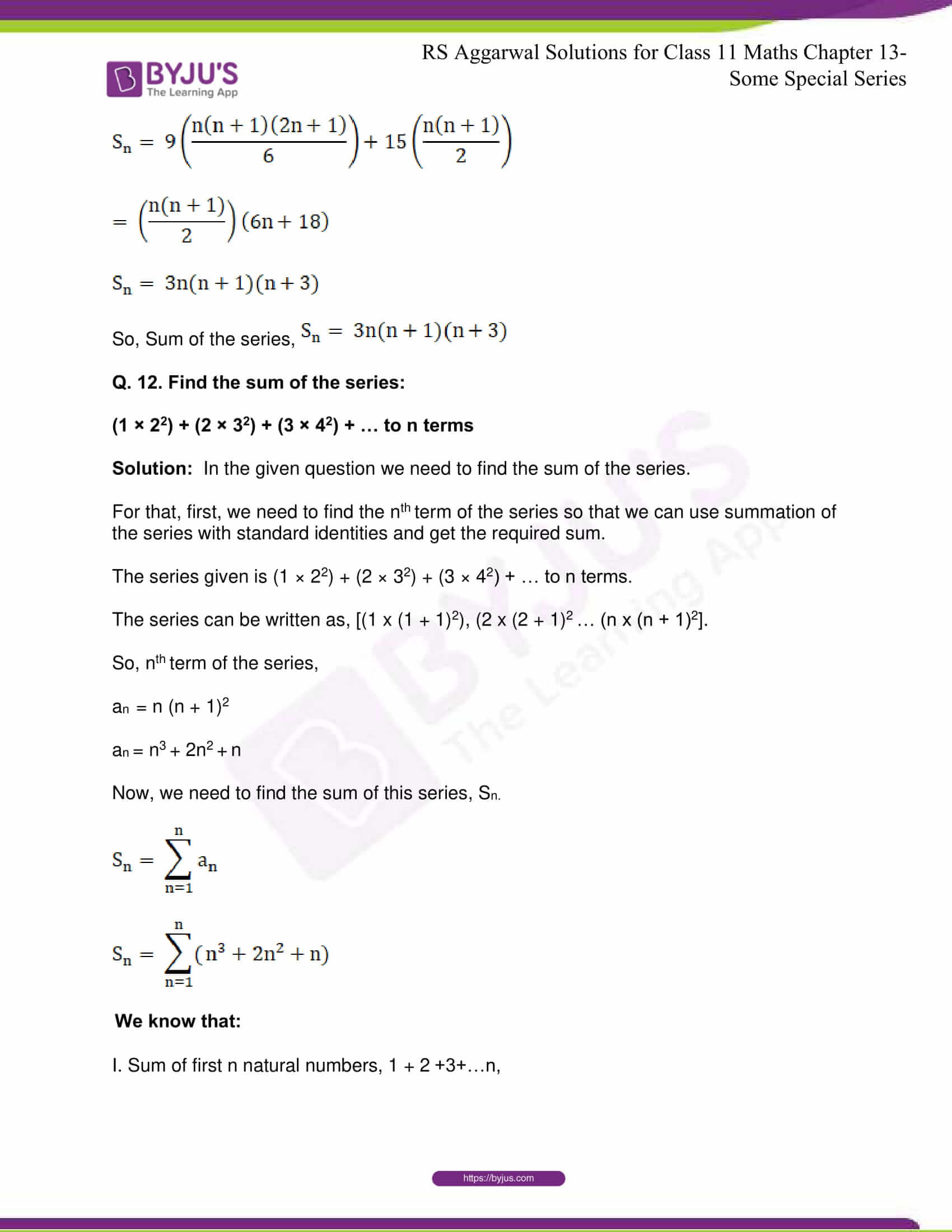 rsaggarwal solutions class 11 maths chapter 13 21