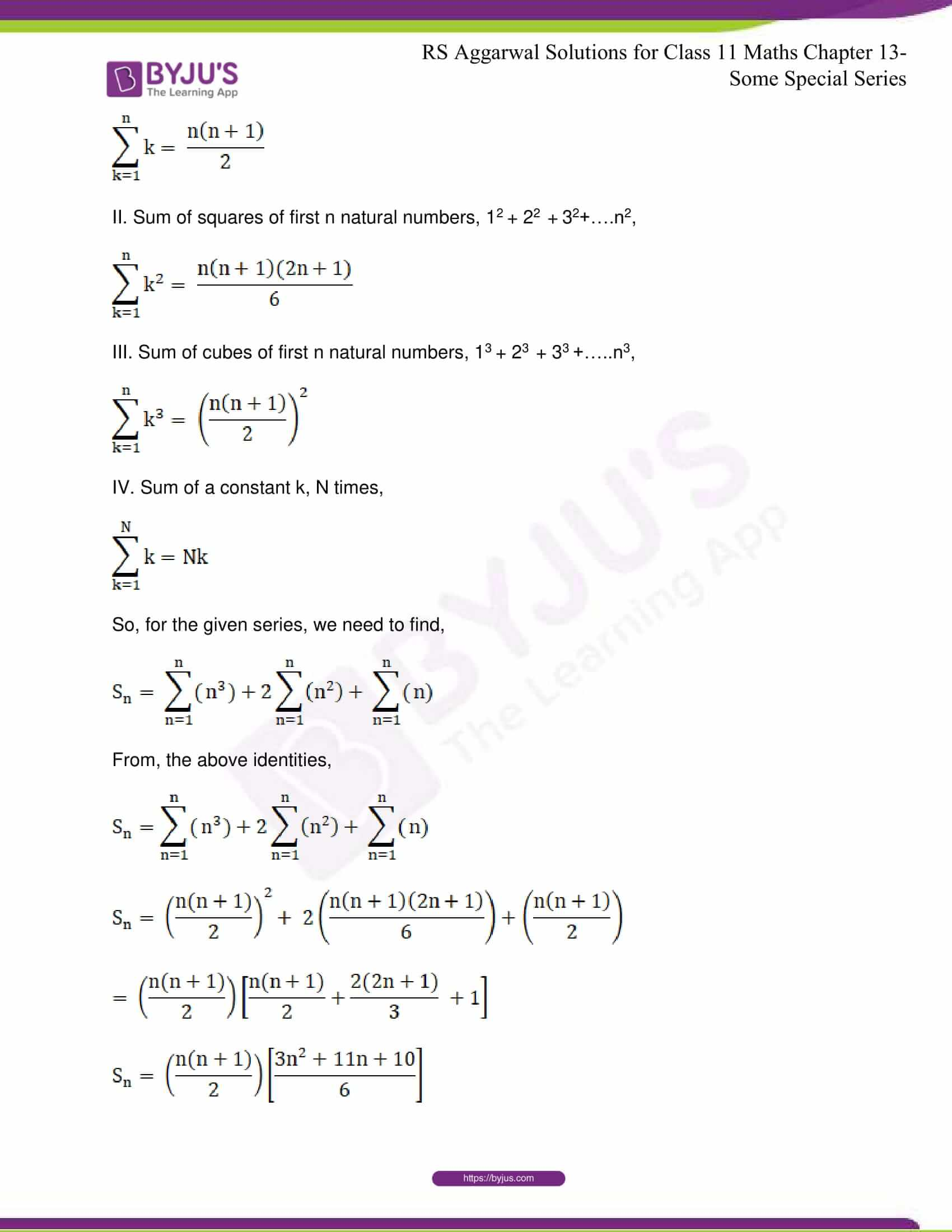 rsaggarwal solutions class 11 maths chapter 13 22