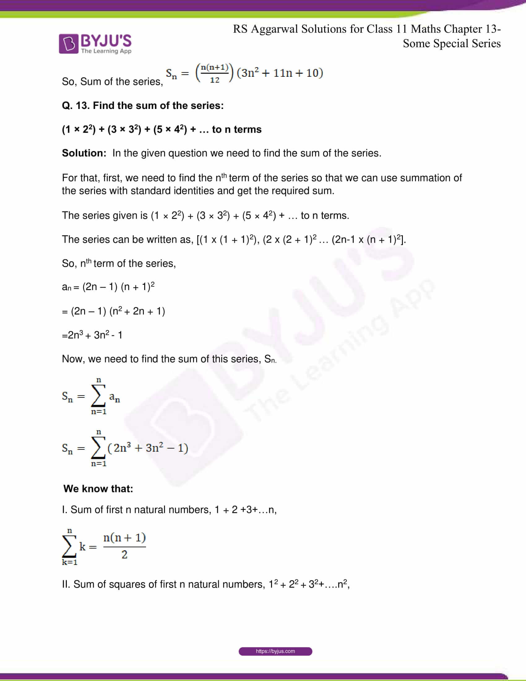 rsaggarwal solutions class 11 maths chapter 13 23