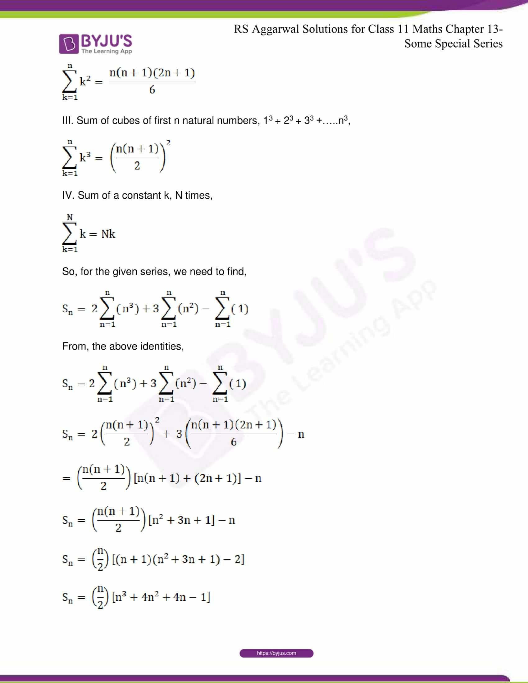 rsaggarwal solutions class 11 maths chapter 13 24