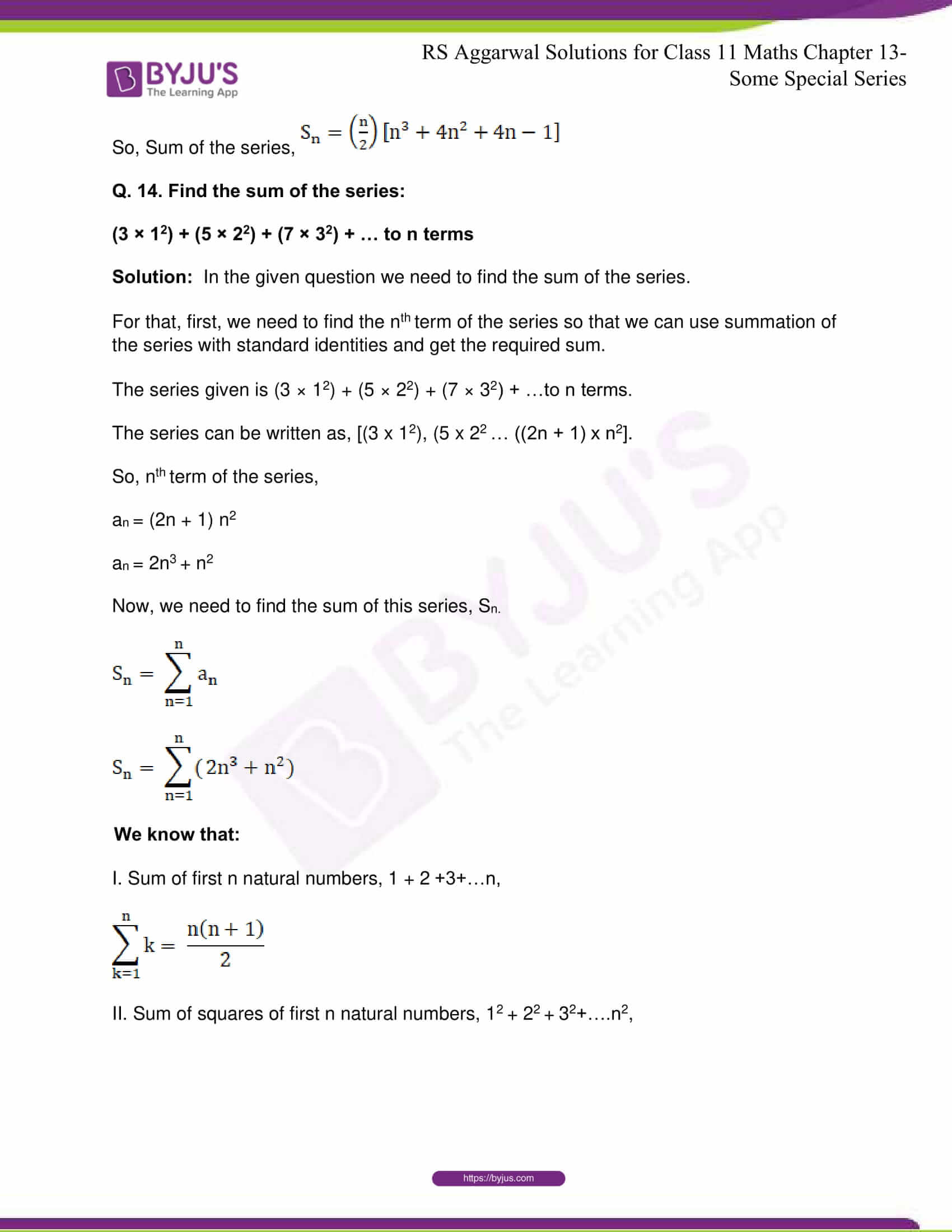 rsaggarwal solutions class 11 maths chapter 13 25