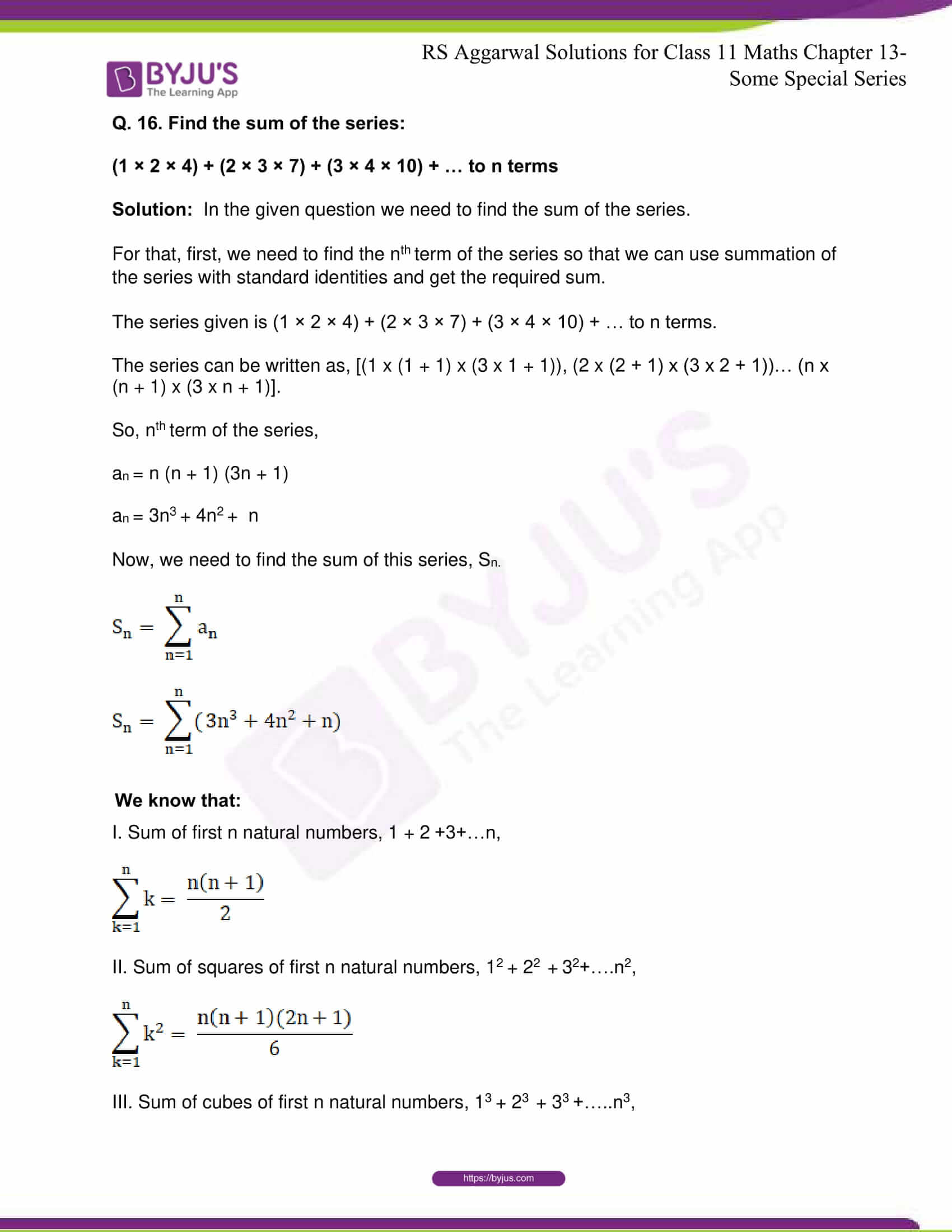 rsaggarwal solutions class 11 maths chapter 13 29