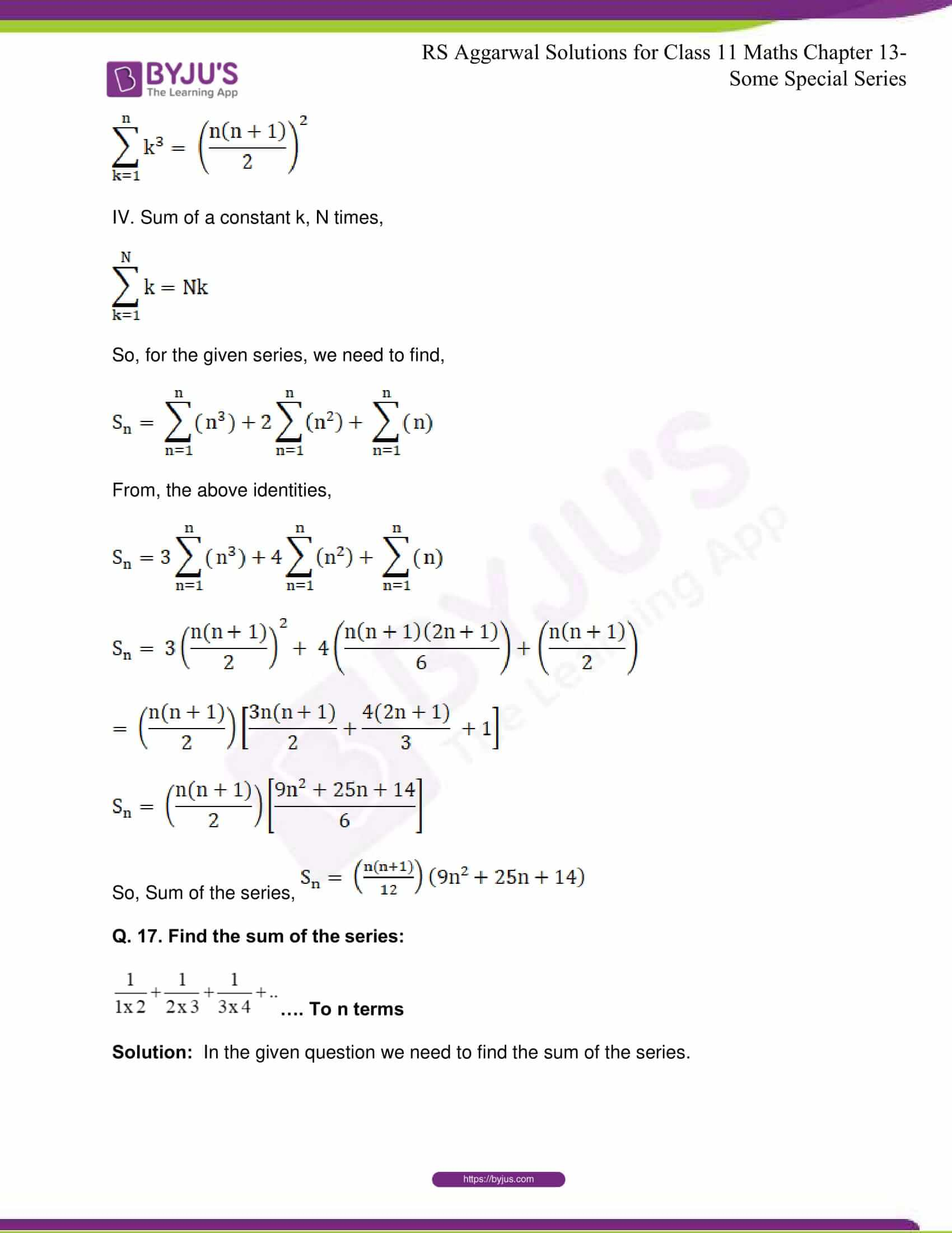 rsaggarwal solutions class 11 maths chapter 13 30