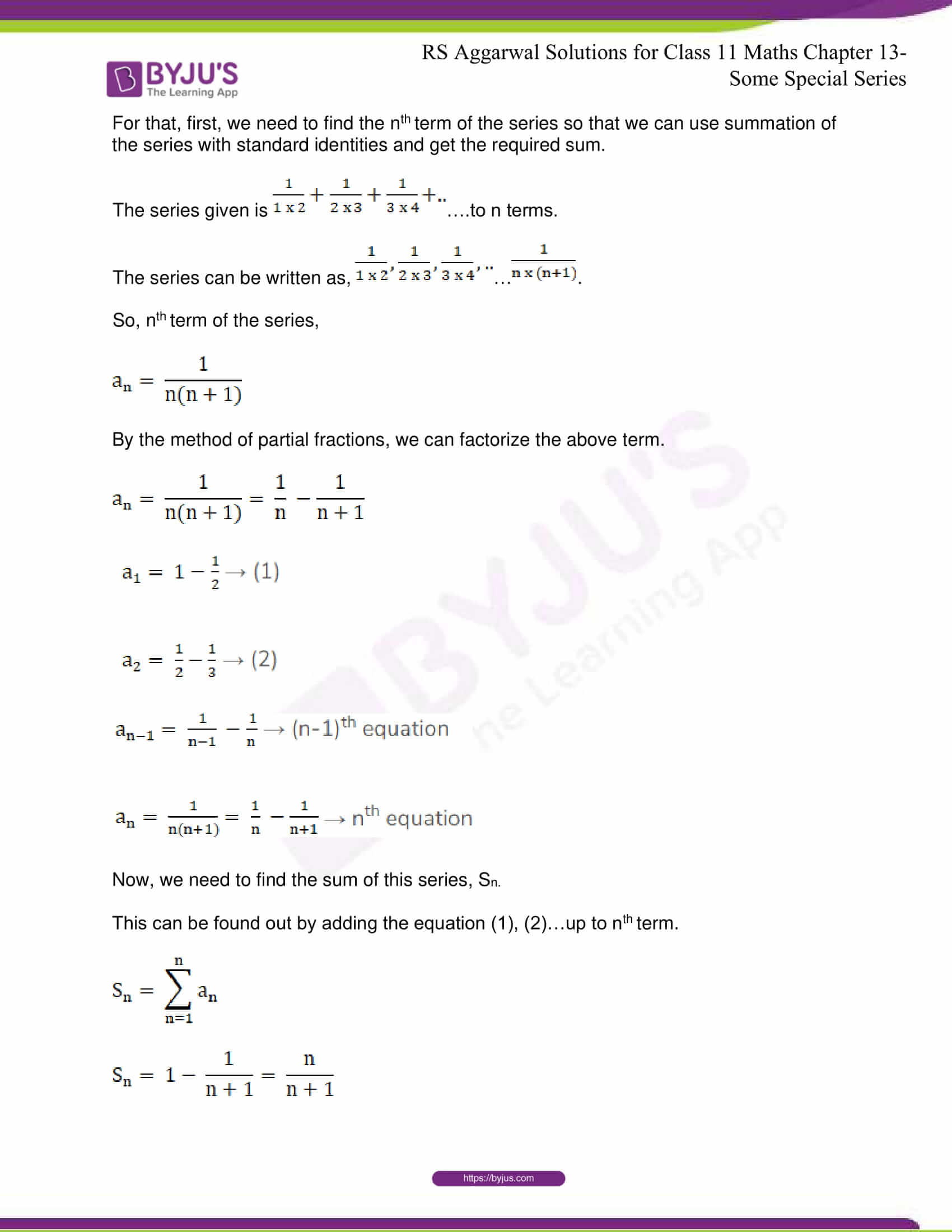 rsaggarwal solutions class 11 maths chapter 13 31