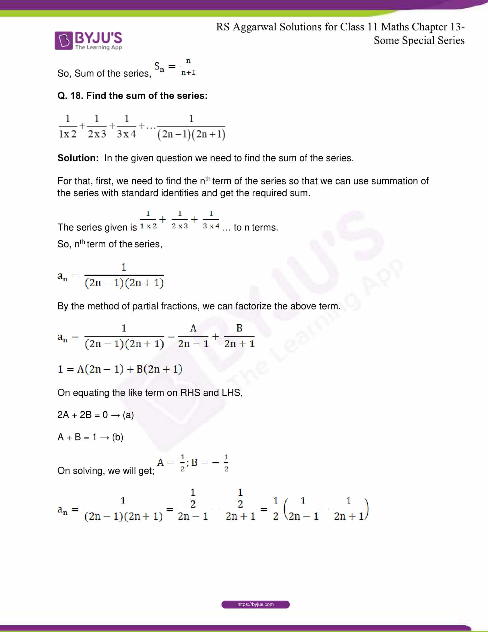 rsaggarwal solutions class 11 maths chapter 13 32