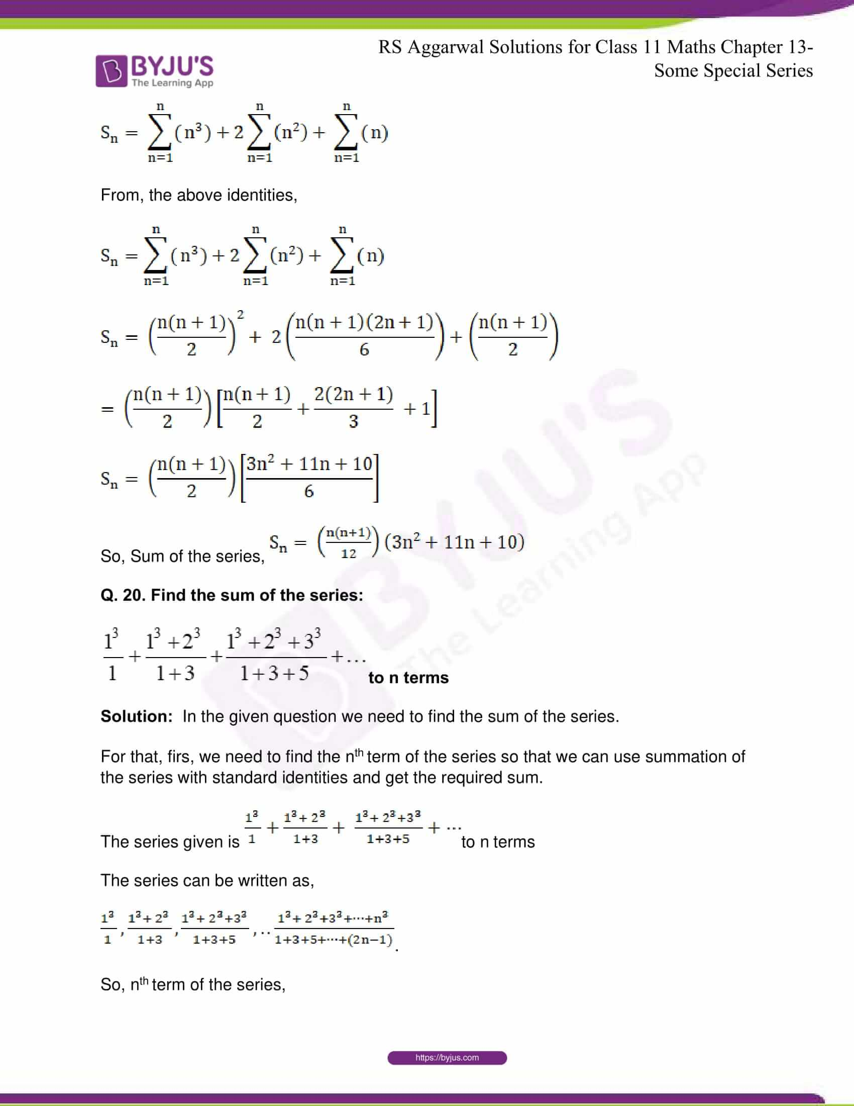 rsaggarwal solutions class 11 maths chapter 13 35