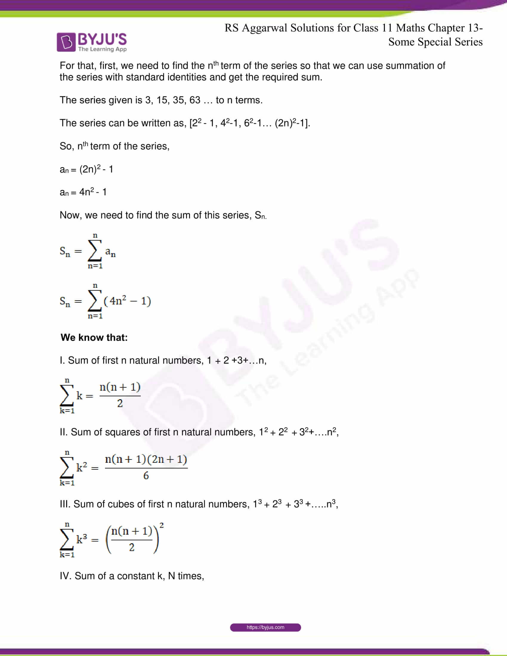 rsaggarwal solutions class 11 maths chapter 13 38