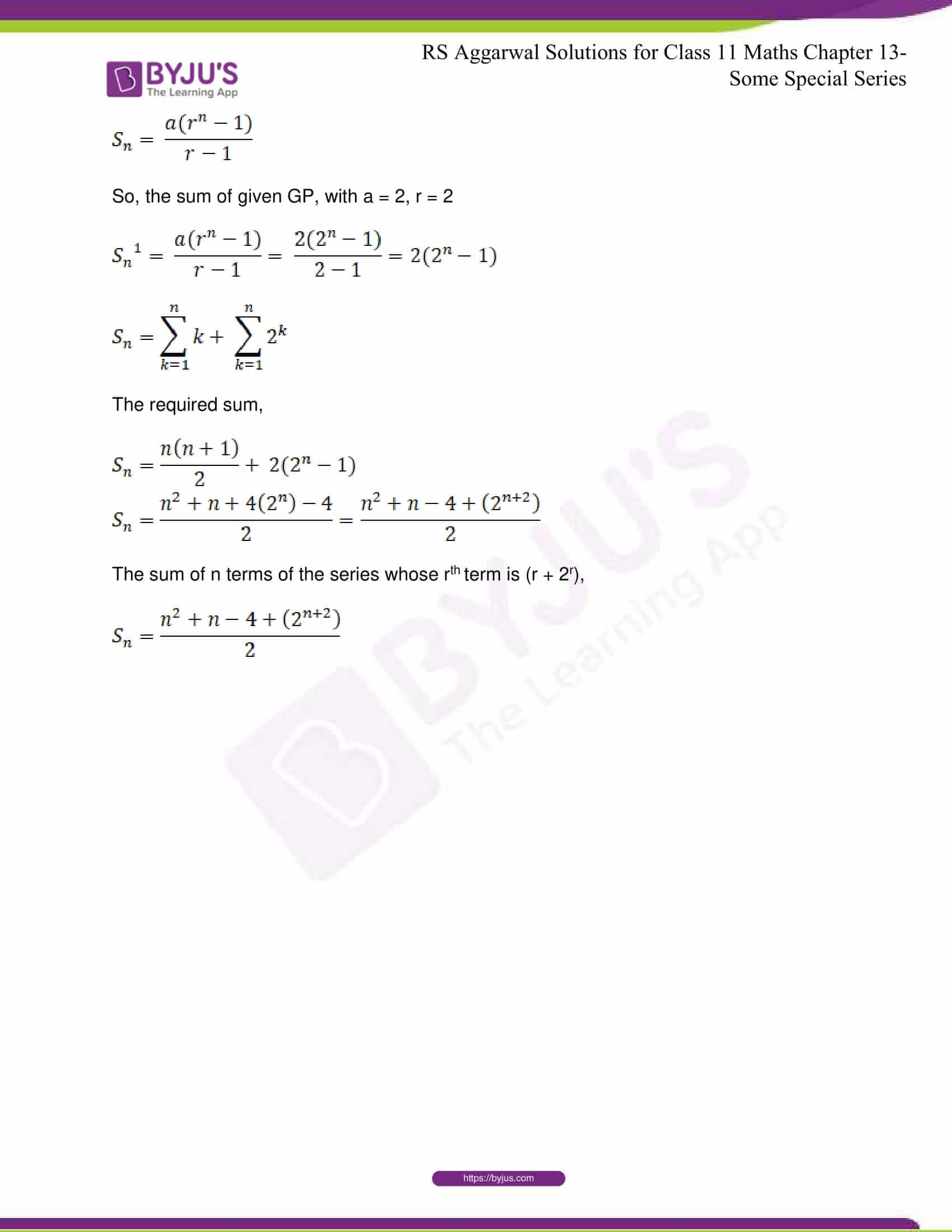 rsaggarwal solutions class 11 maths chapter 13 57