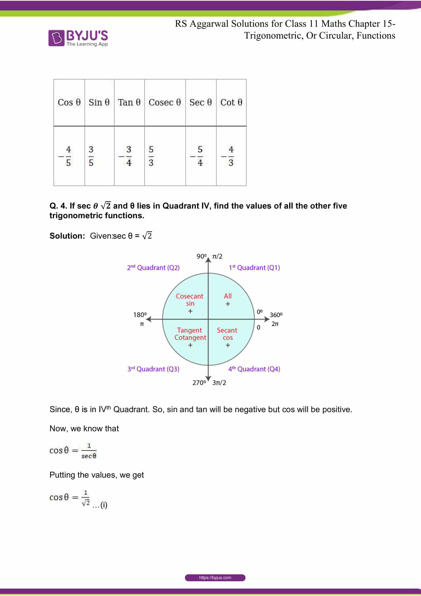 rsaggarwal solutions class 11 maths chapter 15 009
