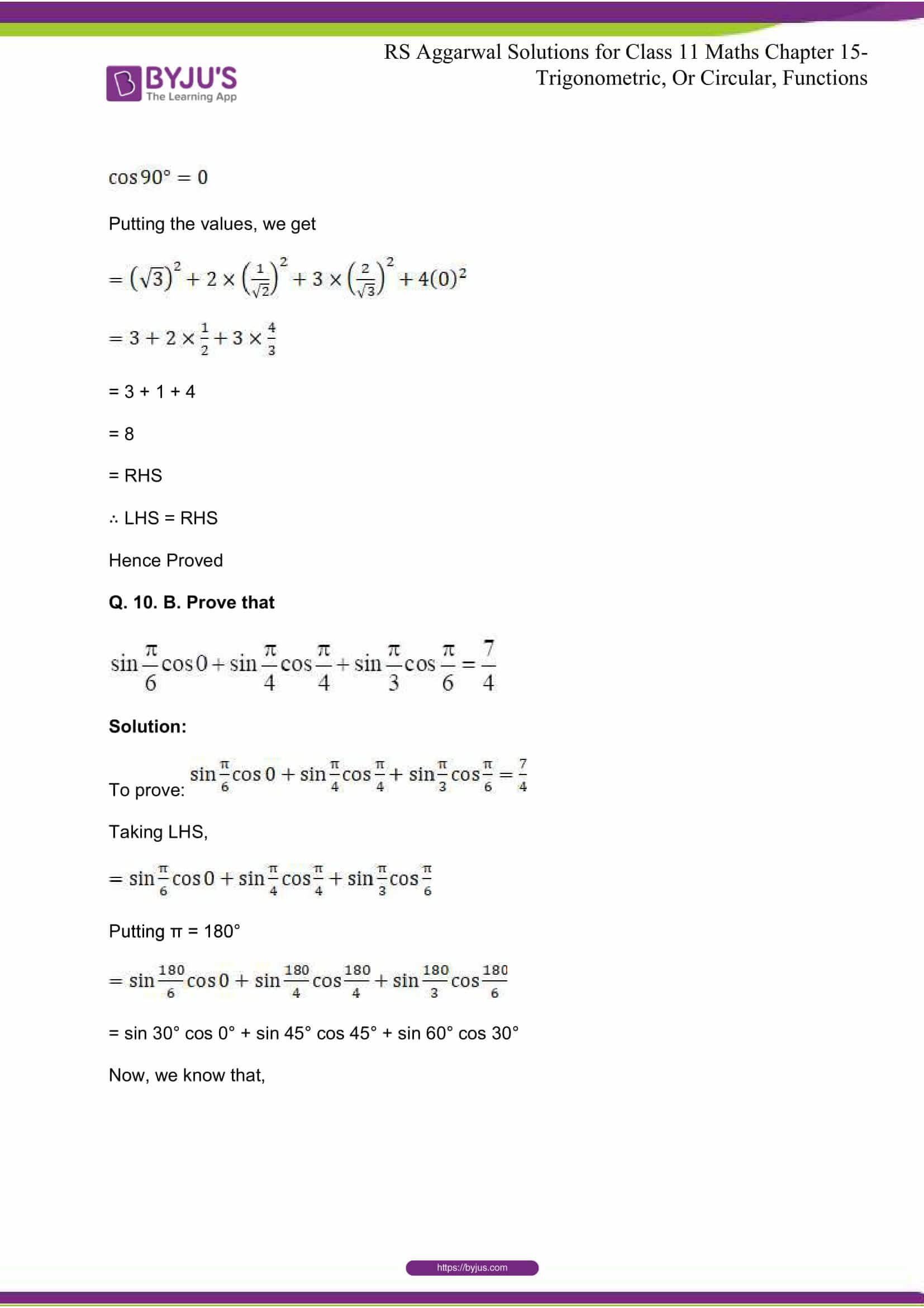 rsaggarwal solutions class 11 maths chapter 15 026