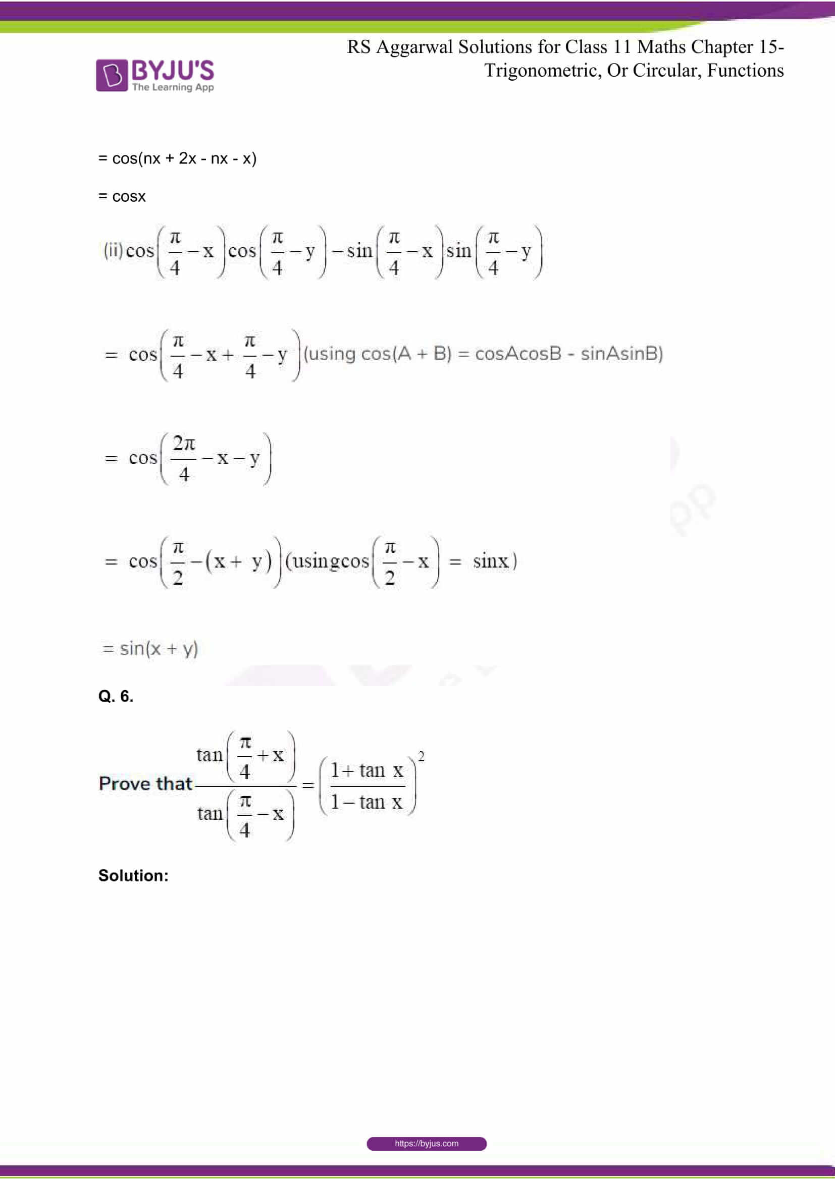 rsaggarwal solutions class 11 maths chapter 15 035