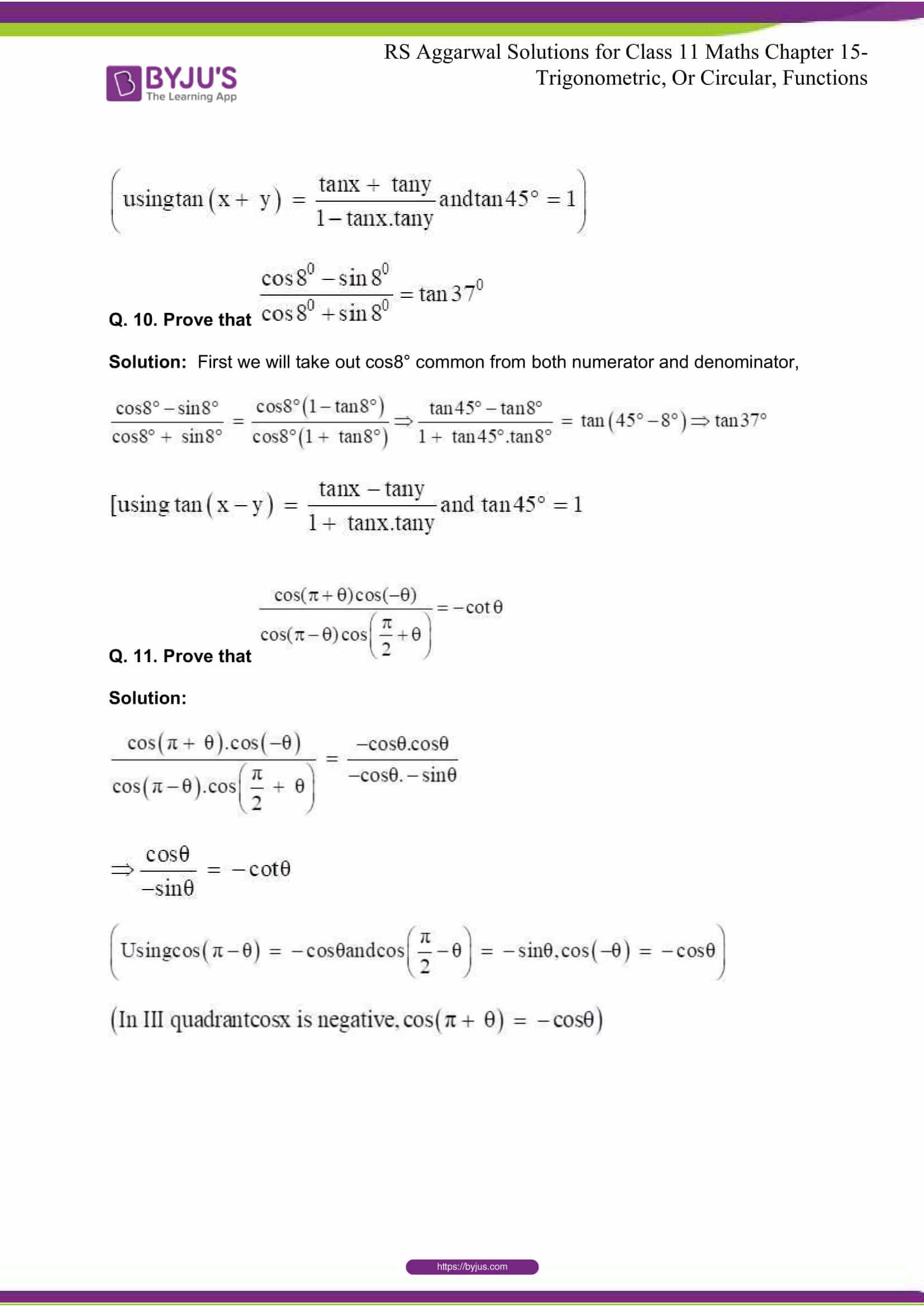 rsaggarwal solutions class 11 maths chapter 15 041