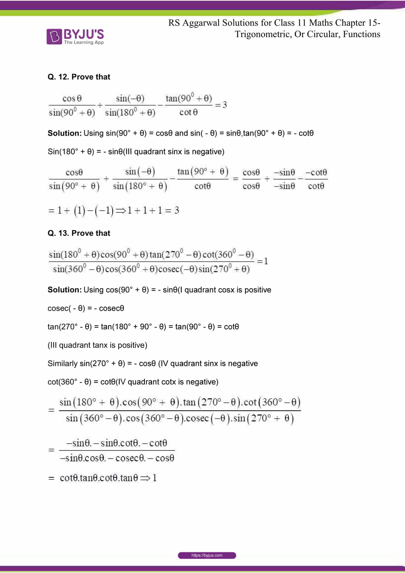 rsaggarwal solutions class 11 maths chapter 15 042