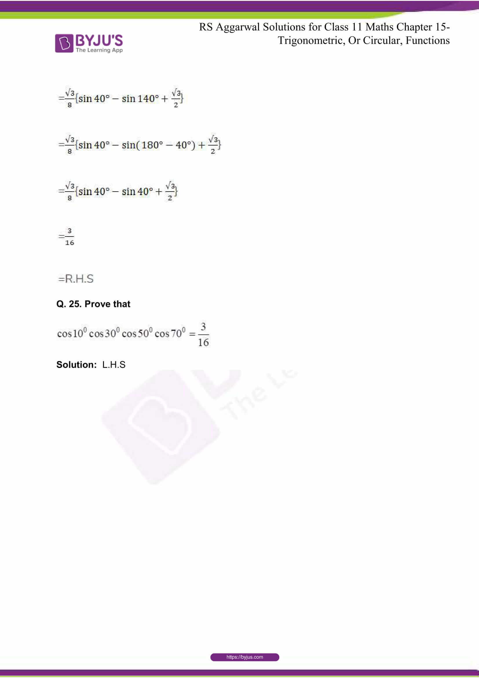 rsaggarwal solutions class 11 maths chapter 15 073