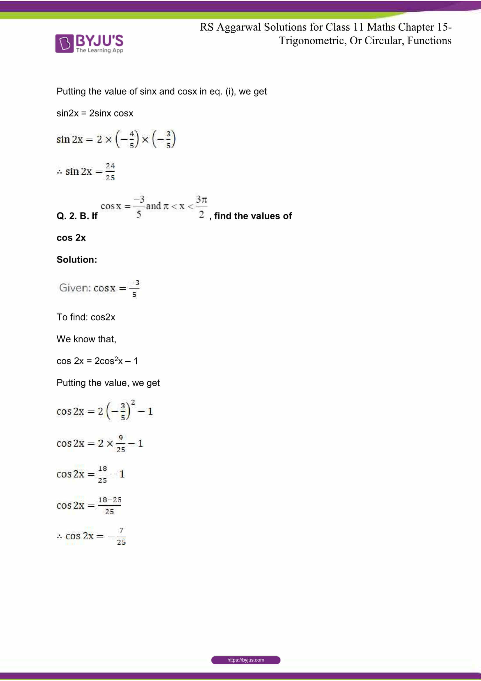rsaggarwal solutions class 11 maths chapter 15 083