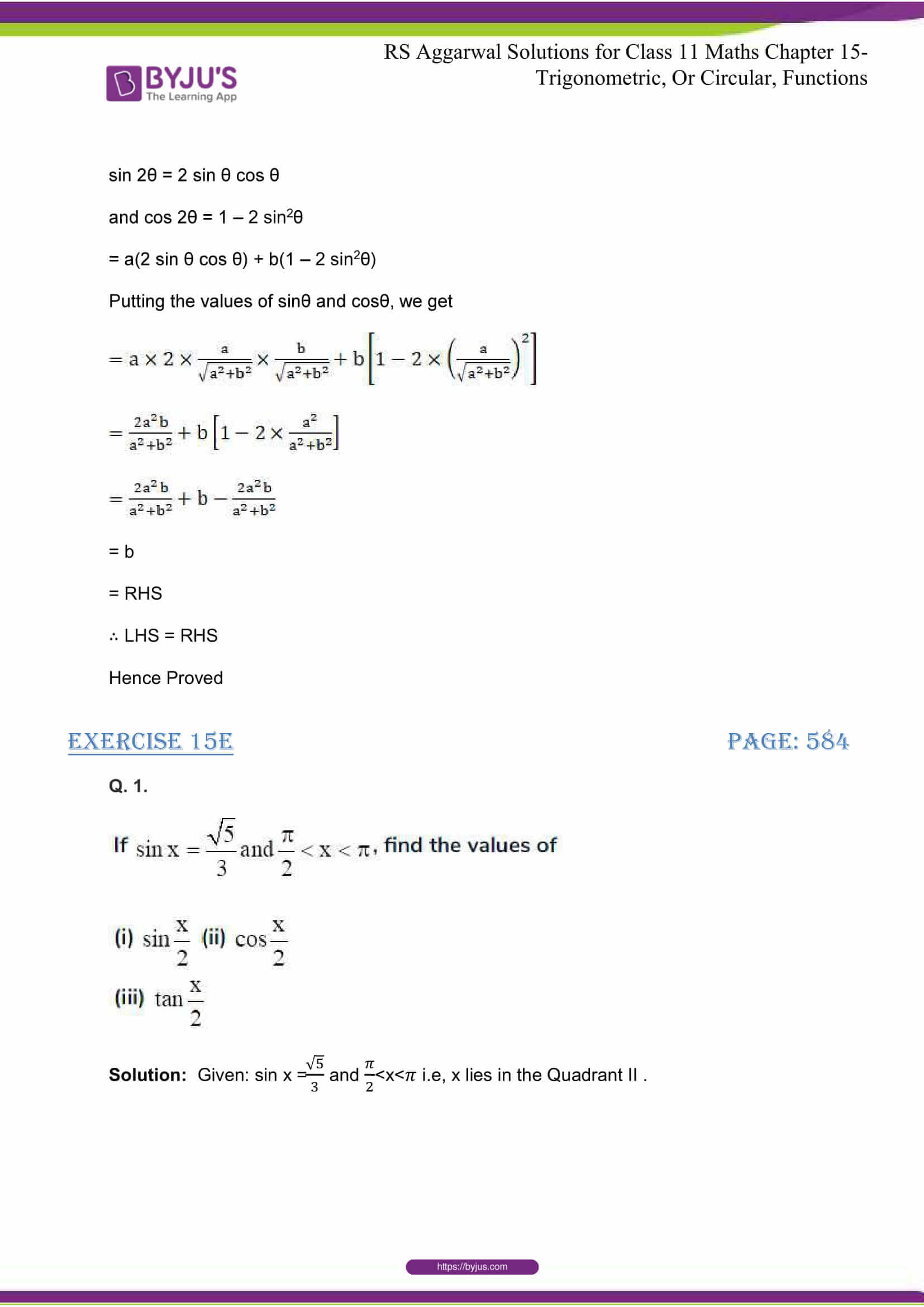 rsaggarwal solutions class 11 maths chapter 15 113