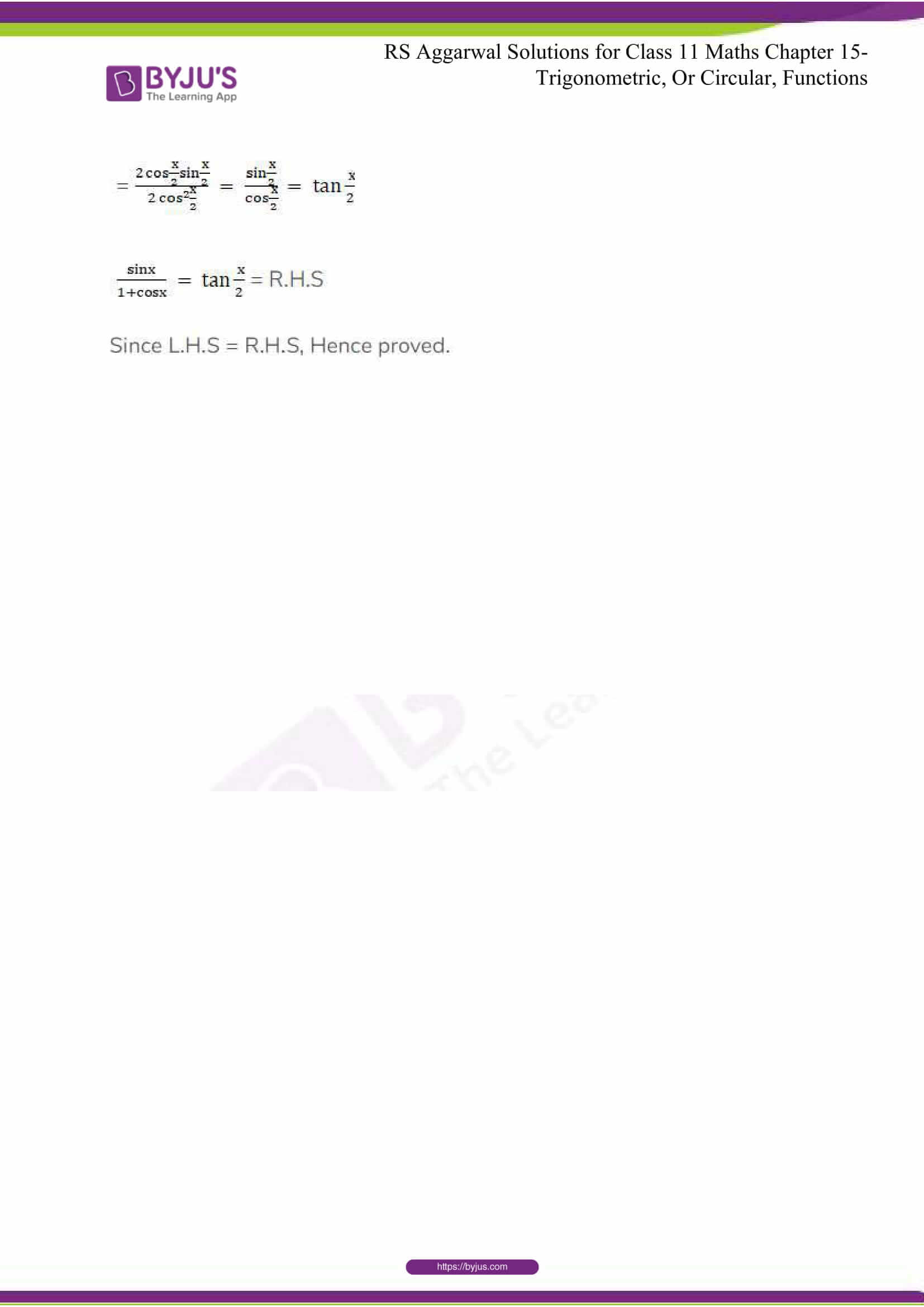 rsaggarwal solutions class 11 maths chapter 15 131