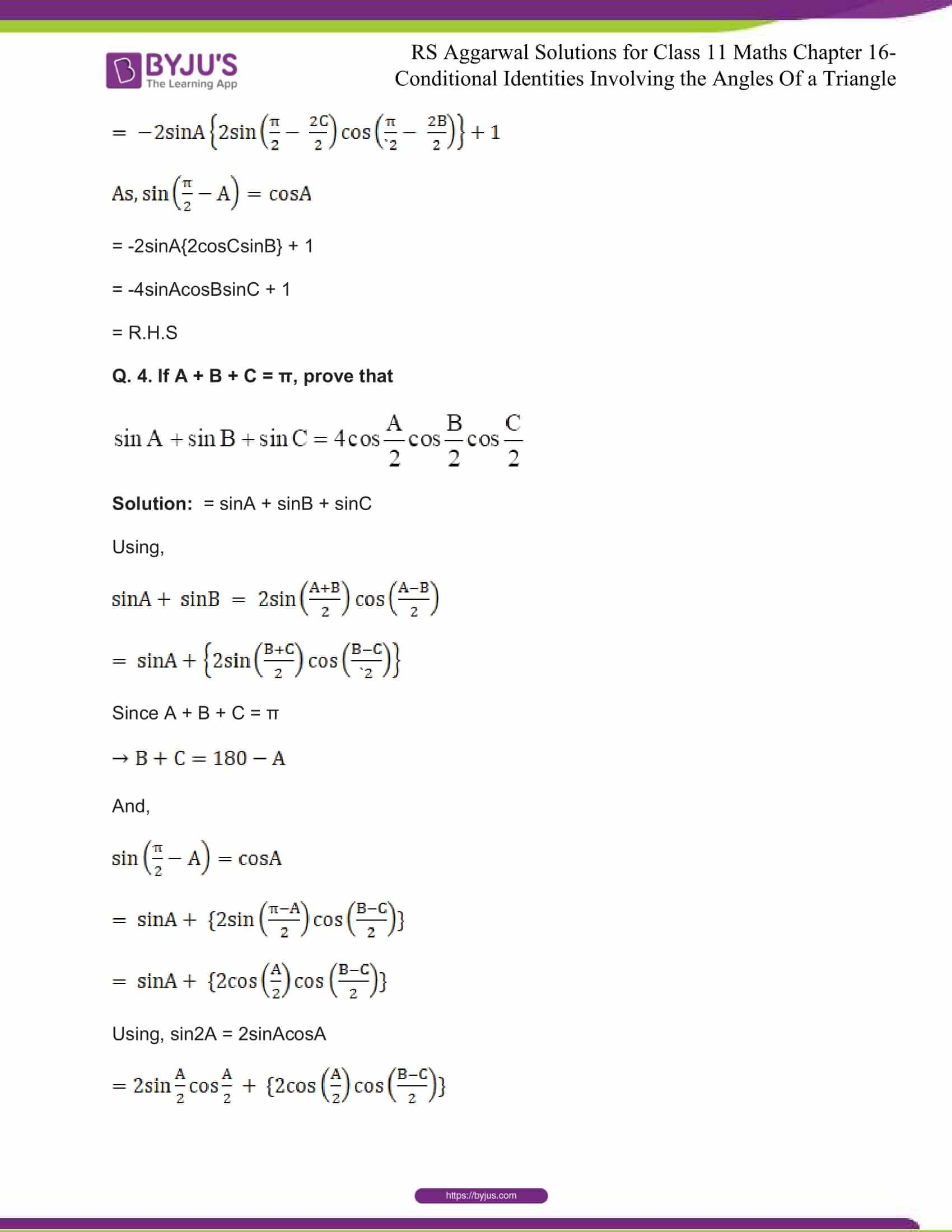 rsaggarwal solutions class 11 maths chapter 16 04